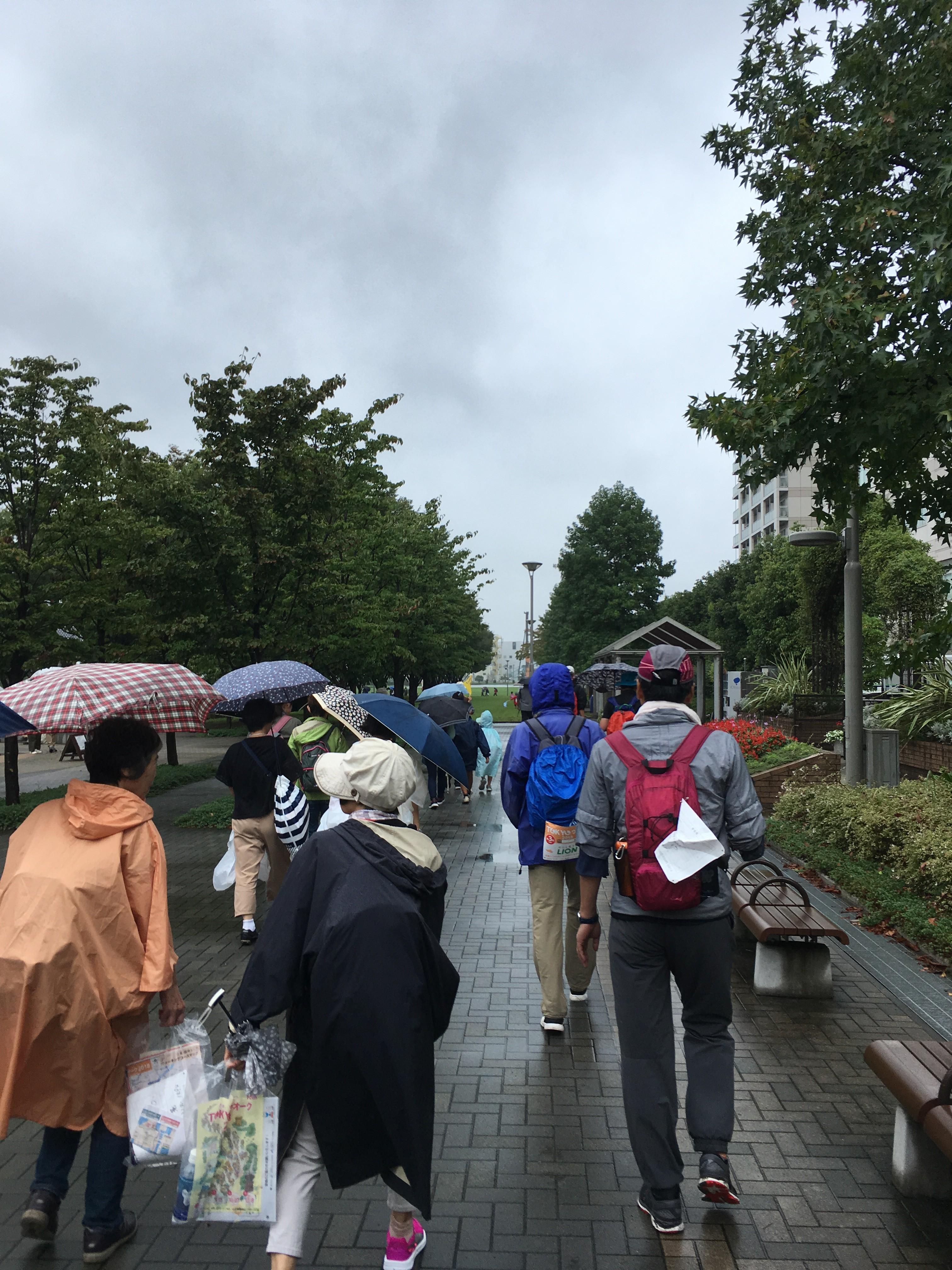 東京臨海広域防災公園(ゴール)