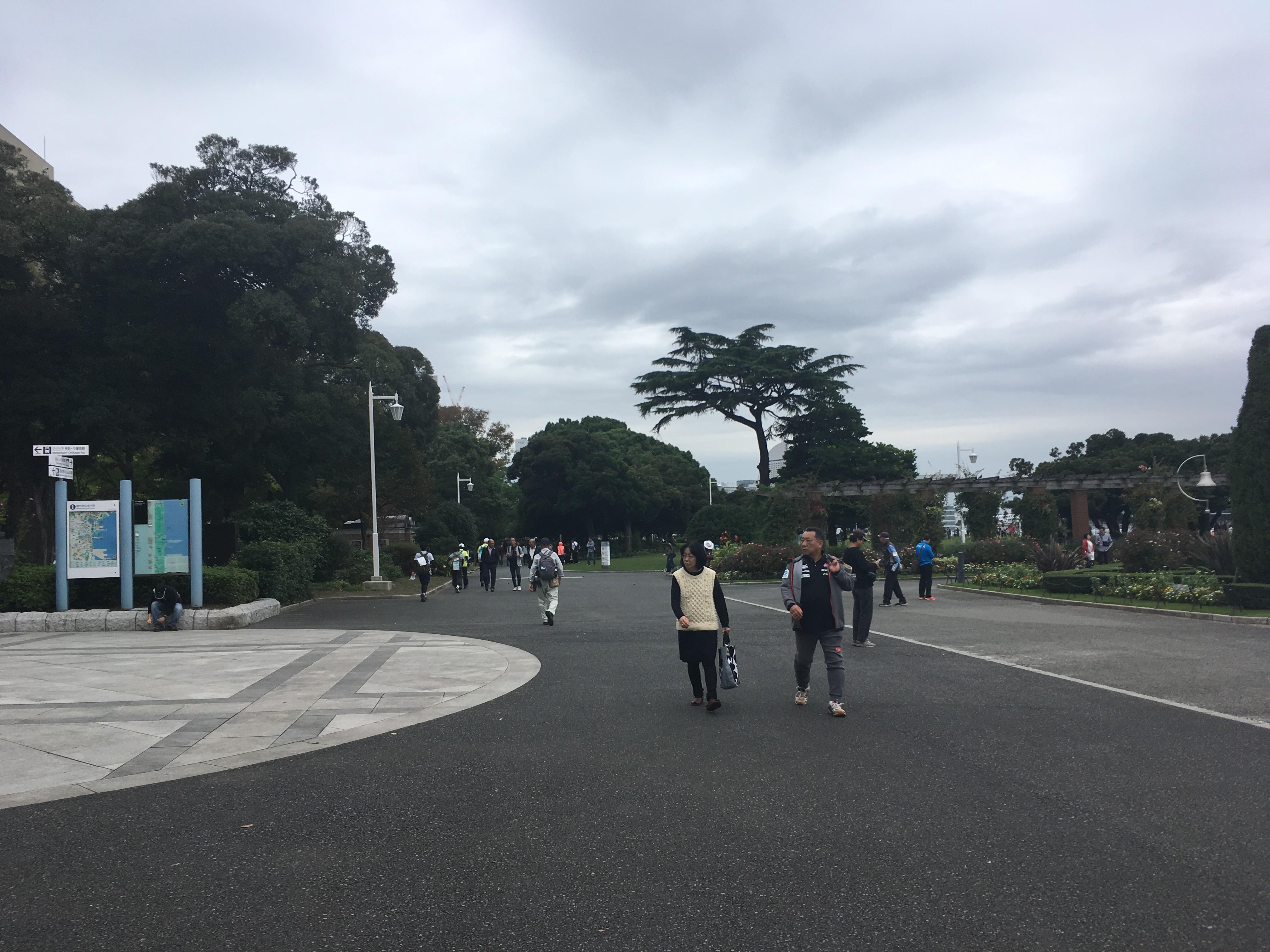 山下公園中央口