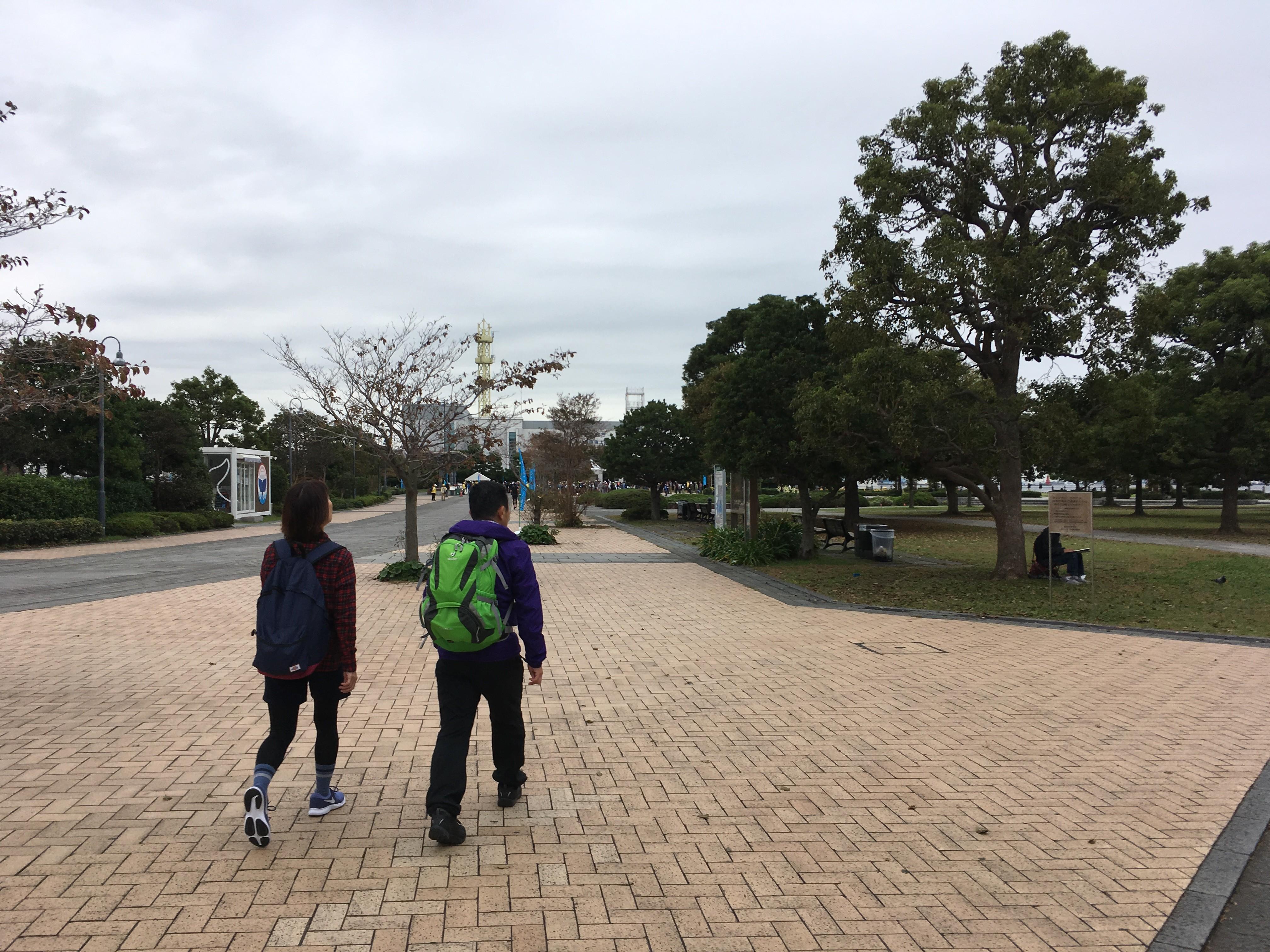 赤レンガパーク(スタート)