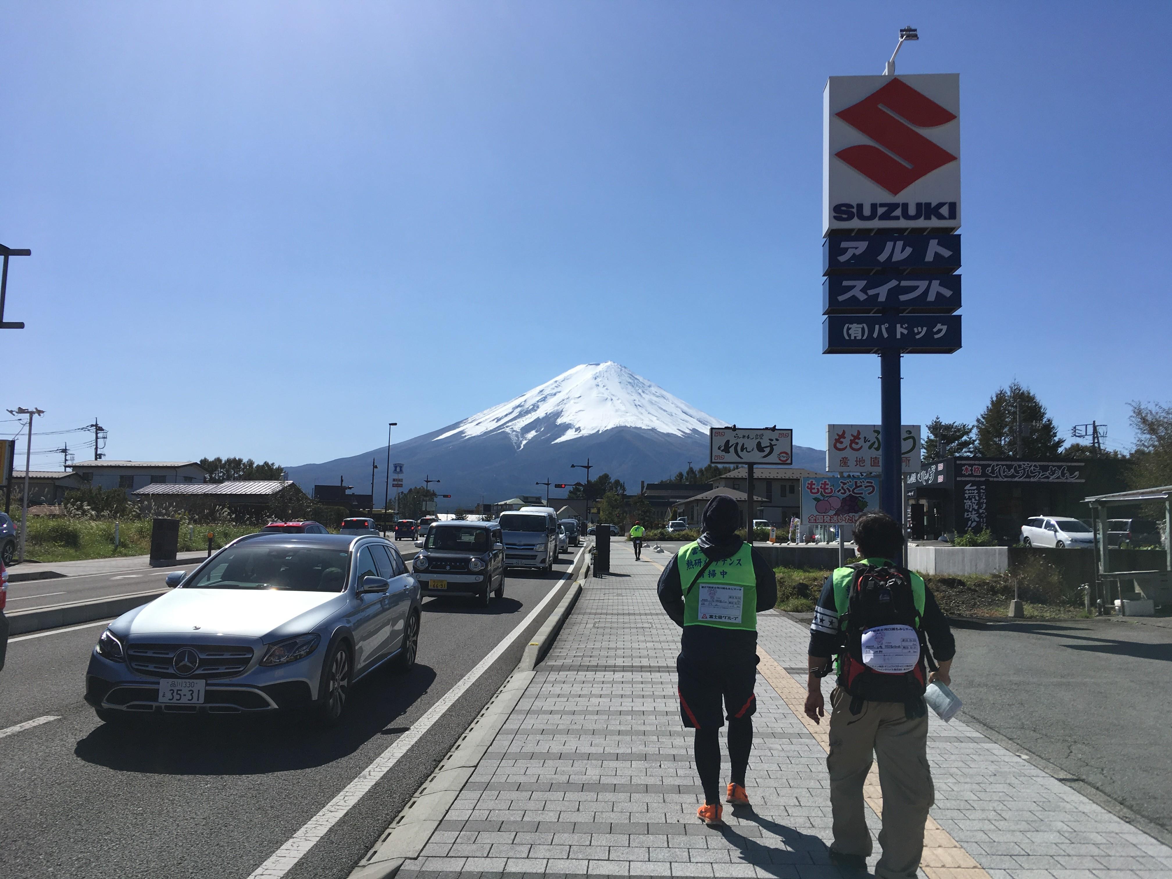 富士河口湖町船津1330−5周辺