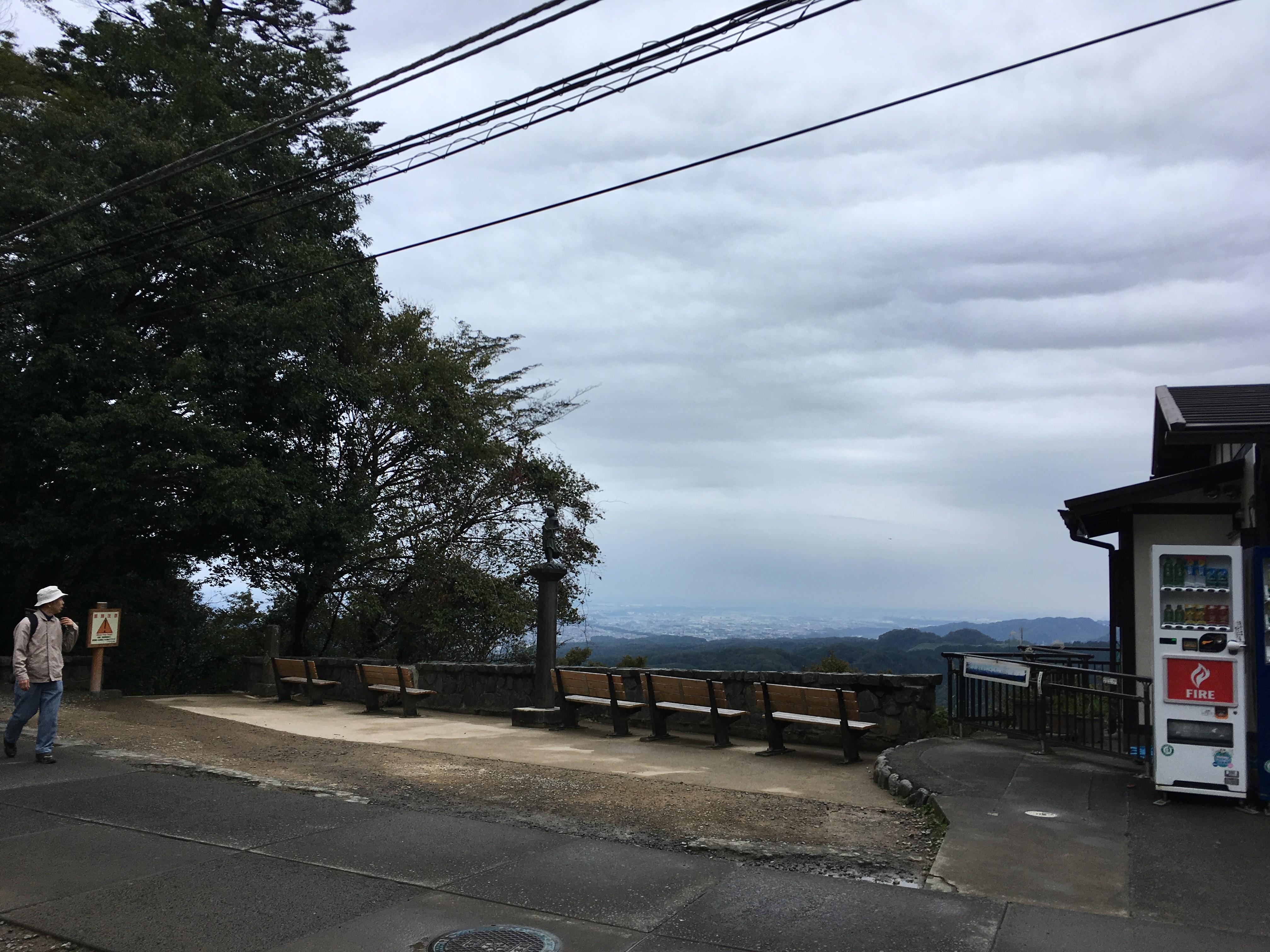 十一丁目茶屋からの景観