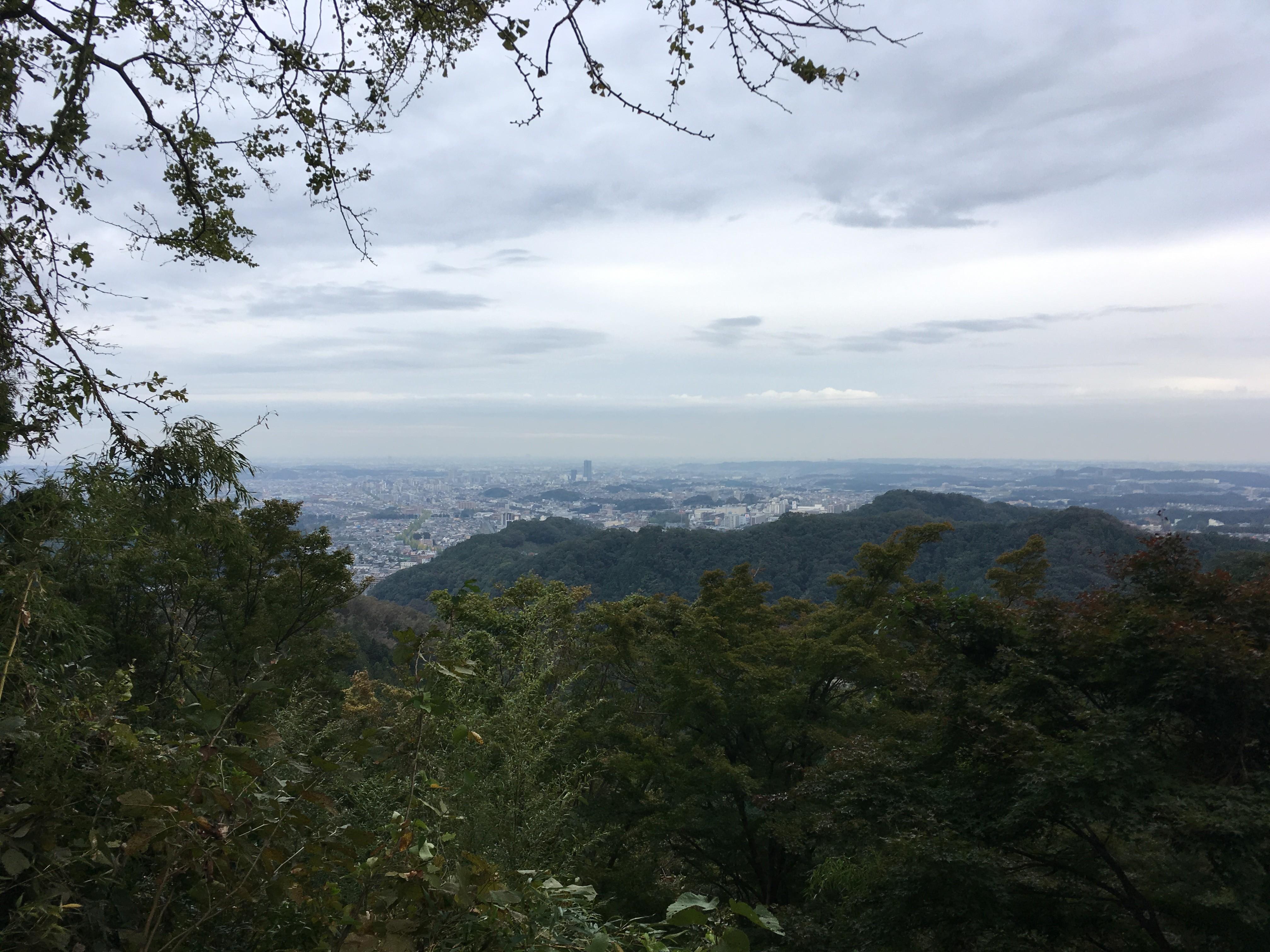 城見台からの景観