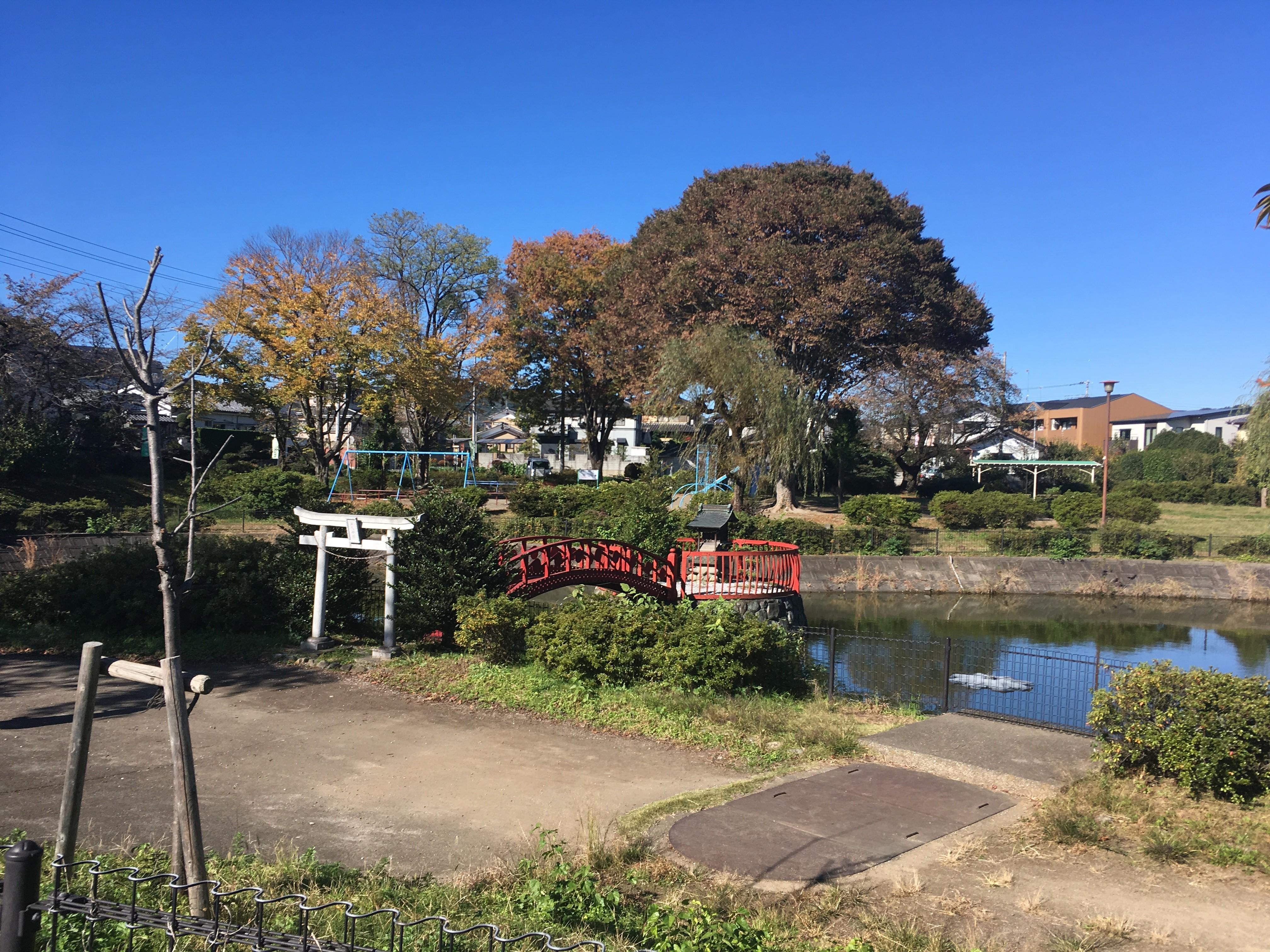 厳島神社(嵐山町菅谷)