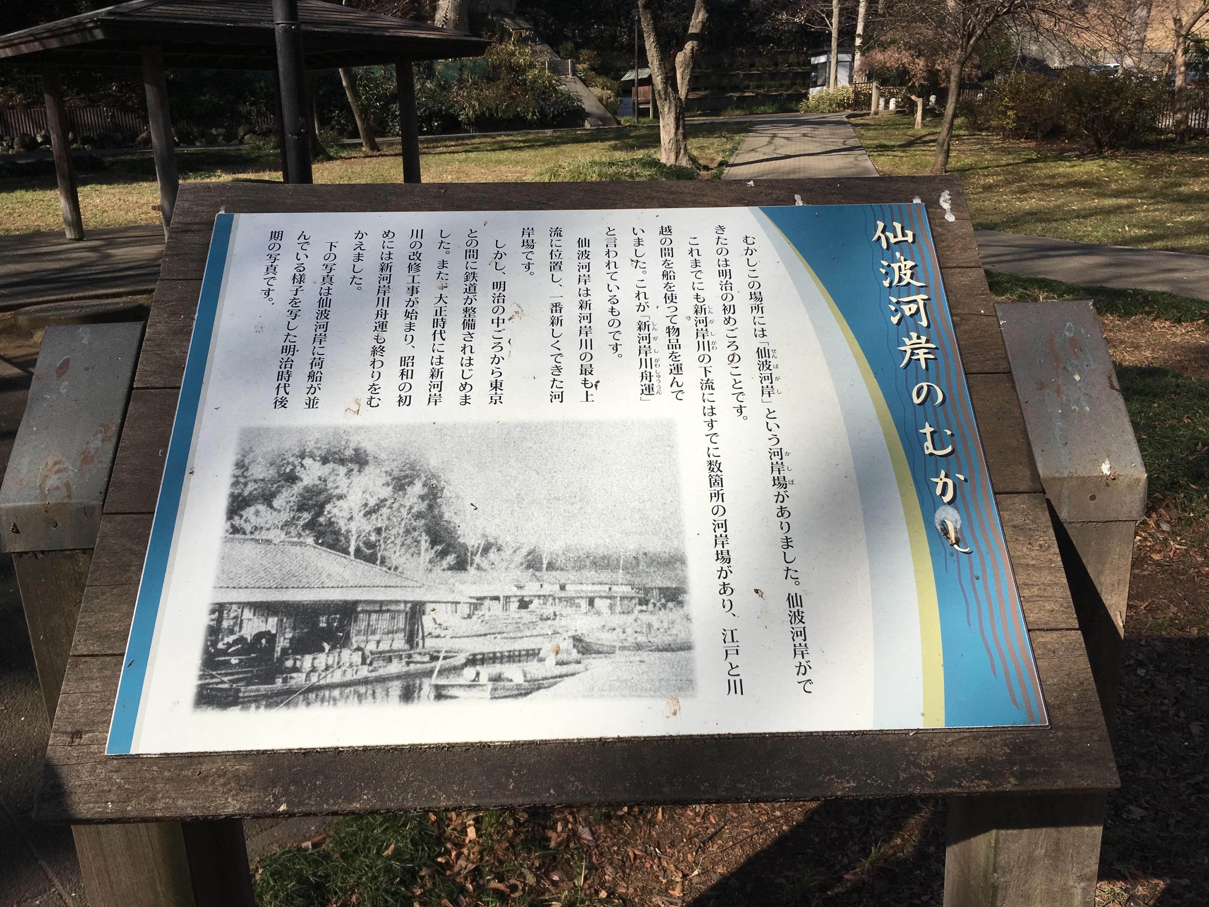 仙波河岸史跡公園(教室)