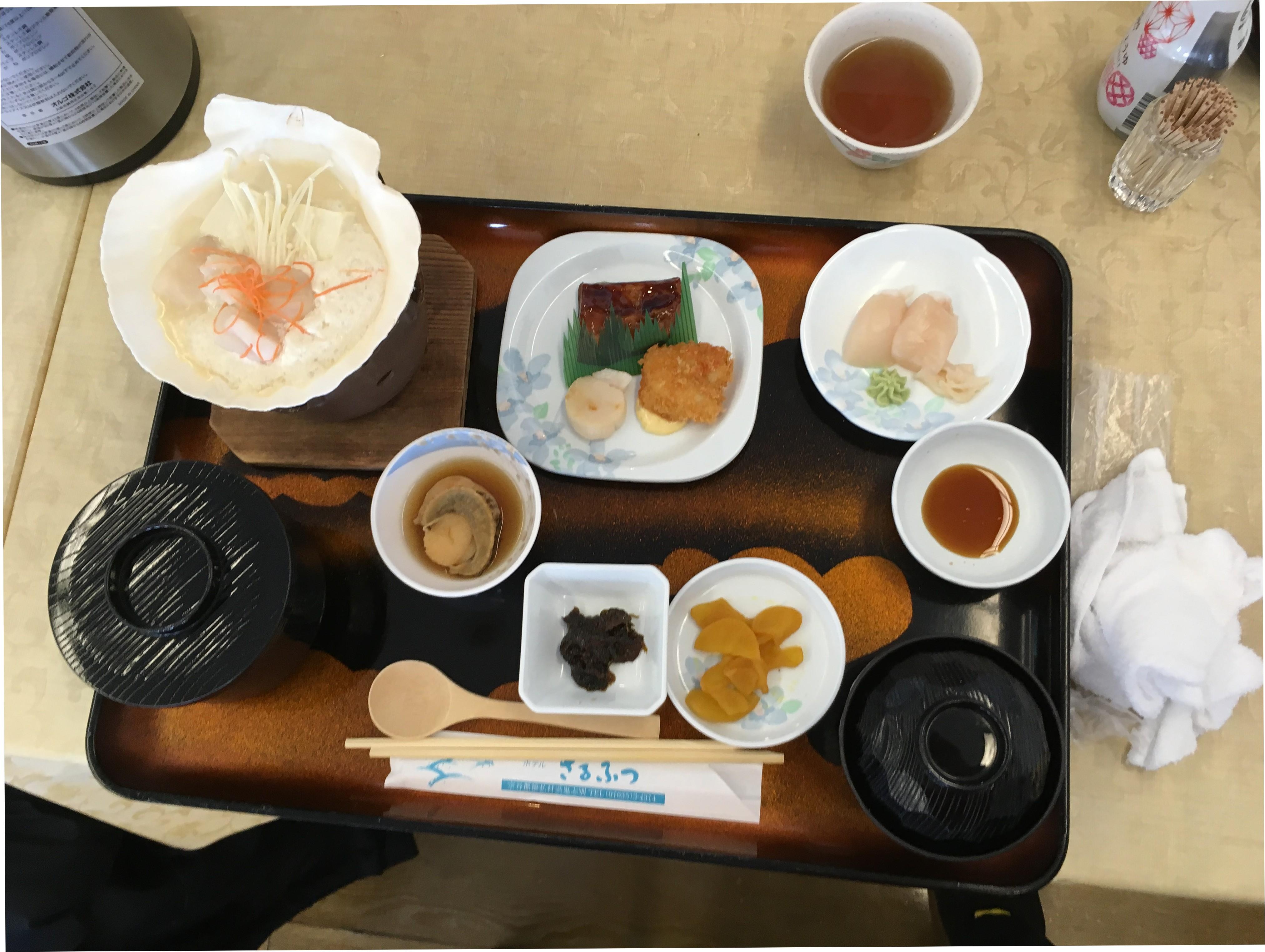 ホテルさるふつ(昼食)