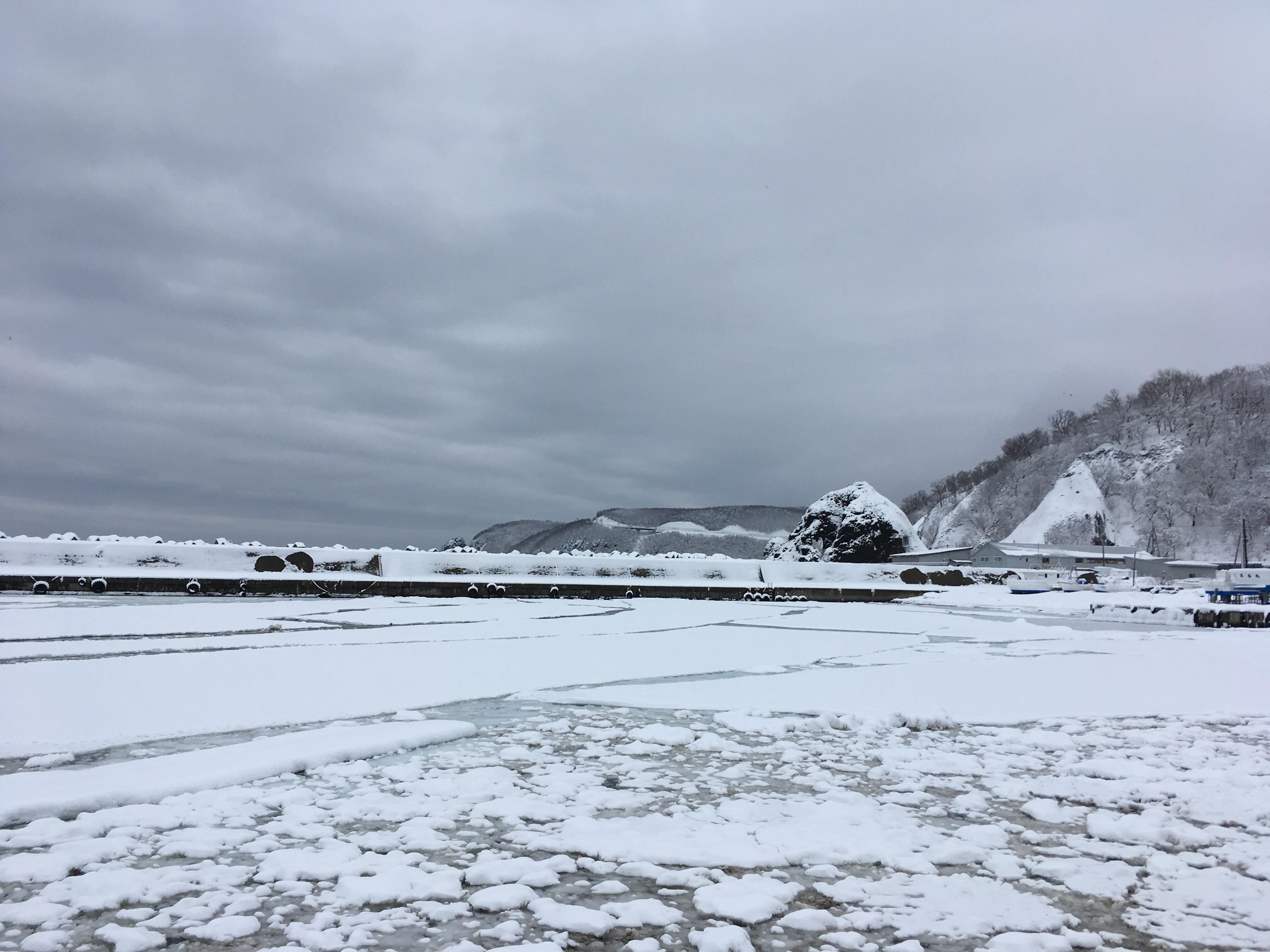 世界自然遺産センター・道の駅シリエトクからの風景