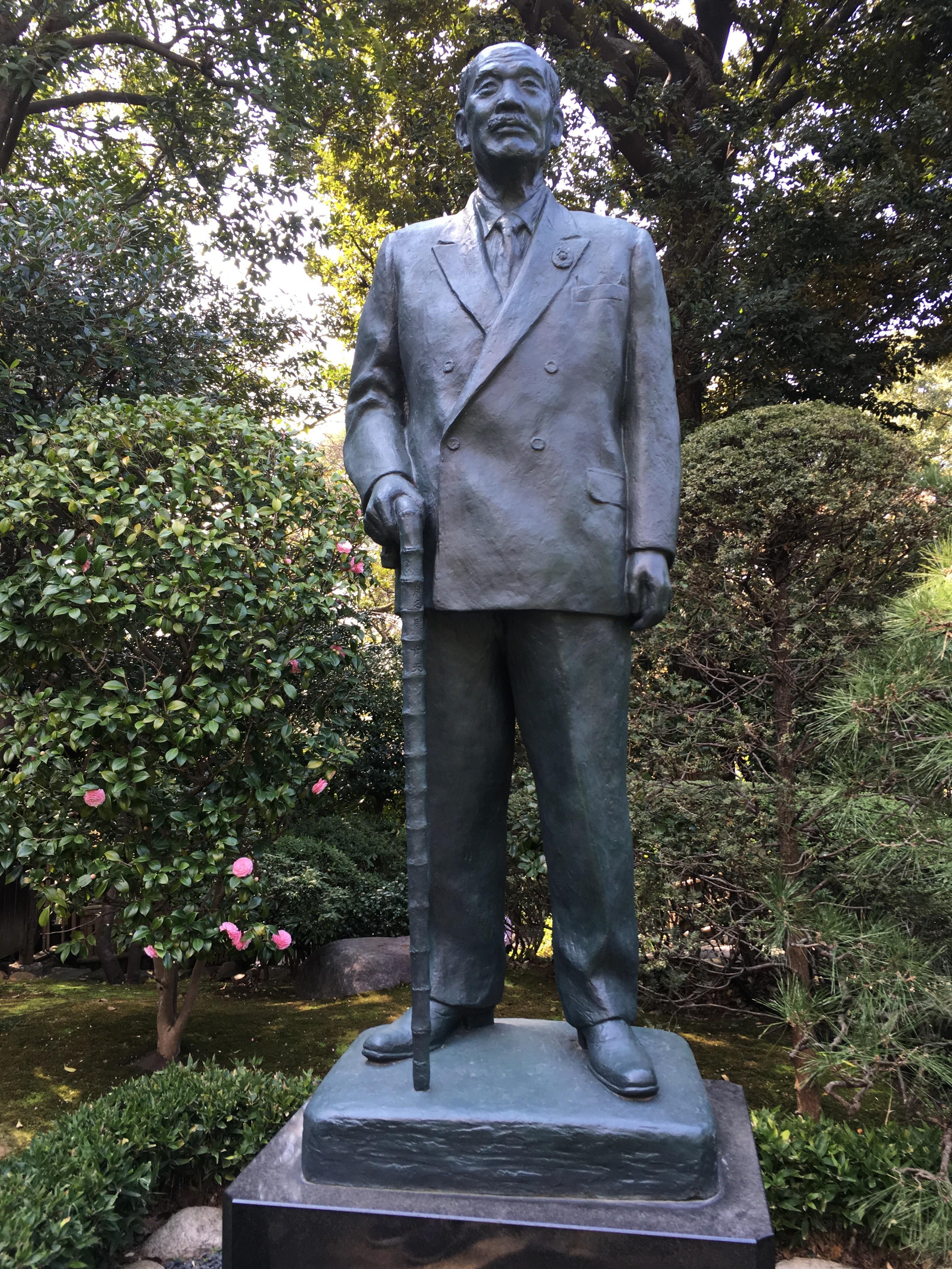 大谷米太郎像