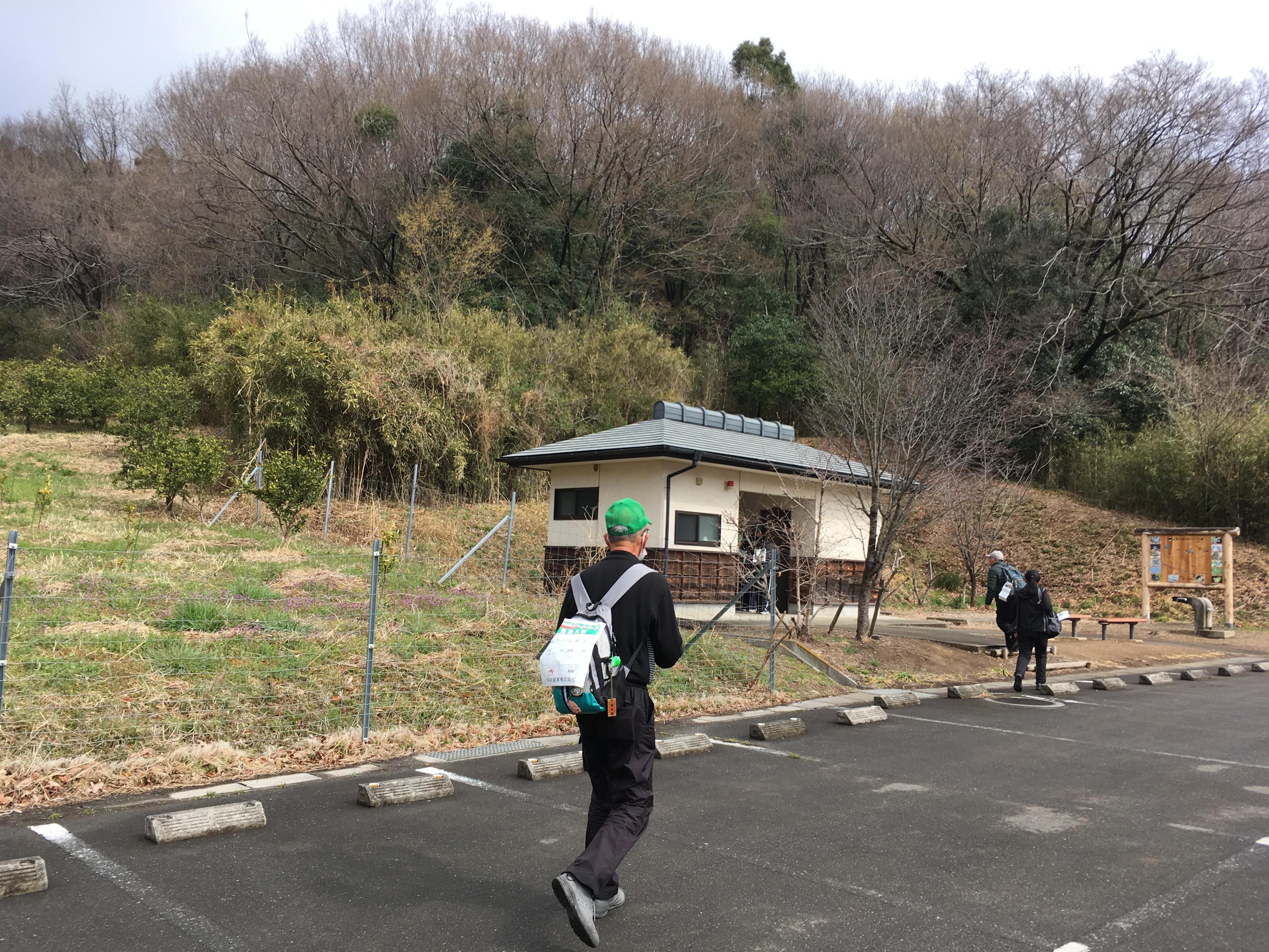菅塩沼の桜並木