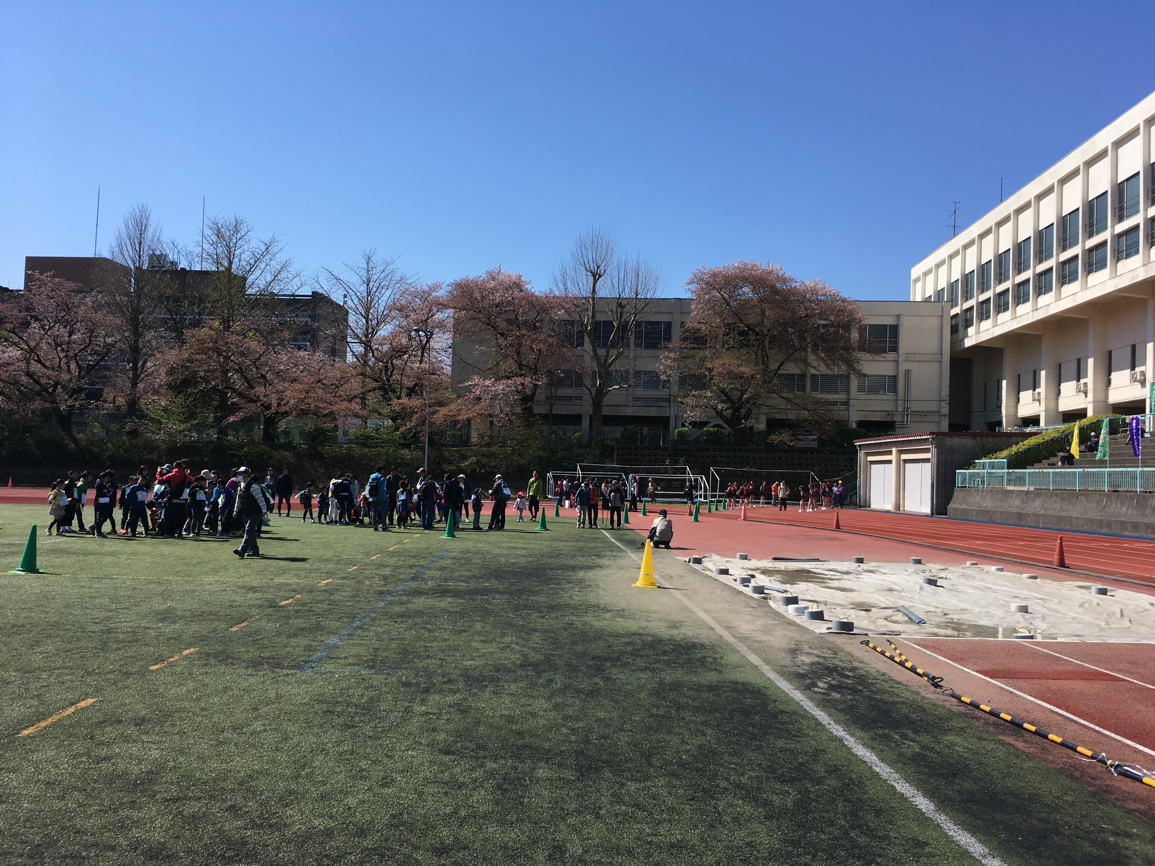 国府台陸上競技場(スタート)