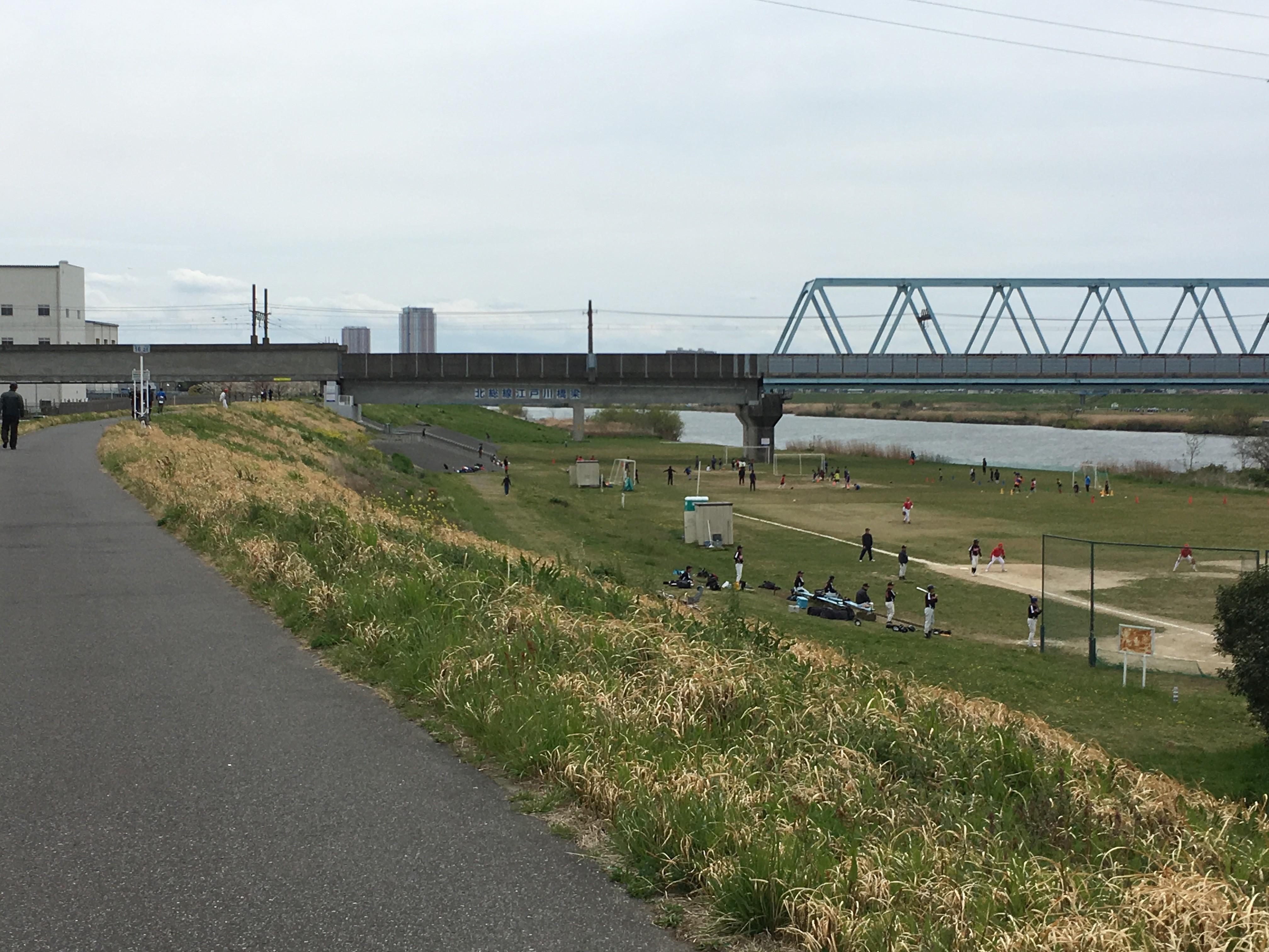 北総線江戸川橋梁
