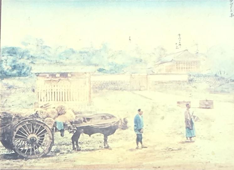 半蔵門「旧江戸城写真帖1871年(明治4年)撮影 東京国立博物館蔵