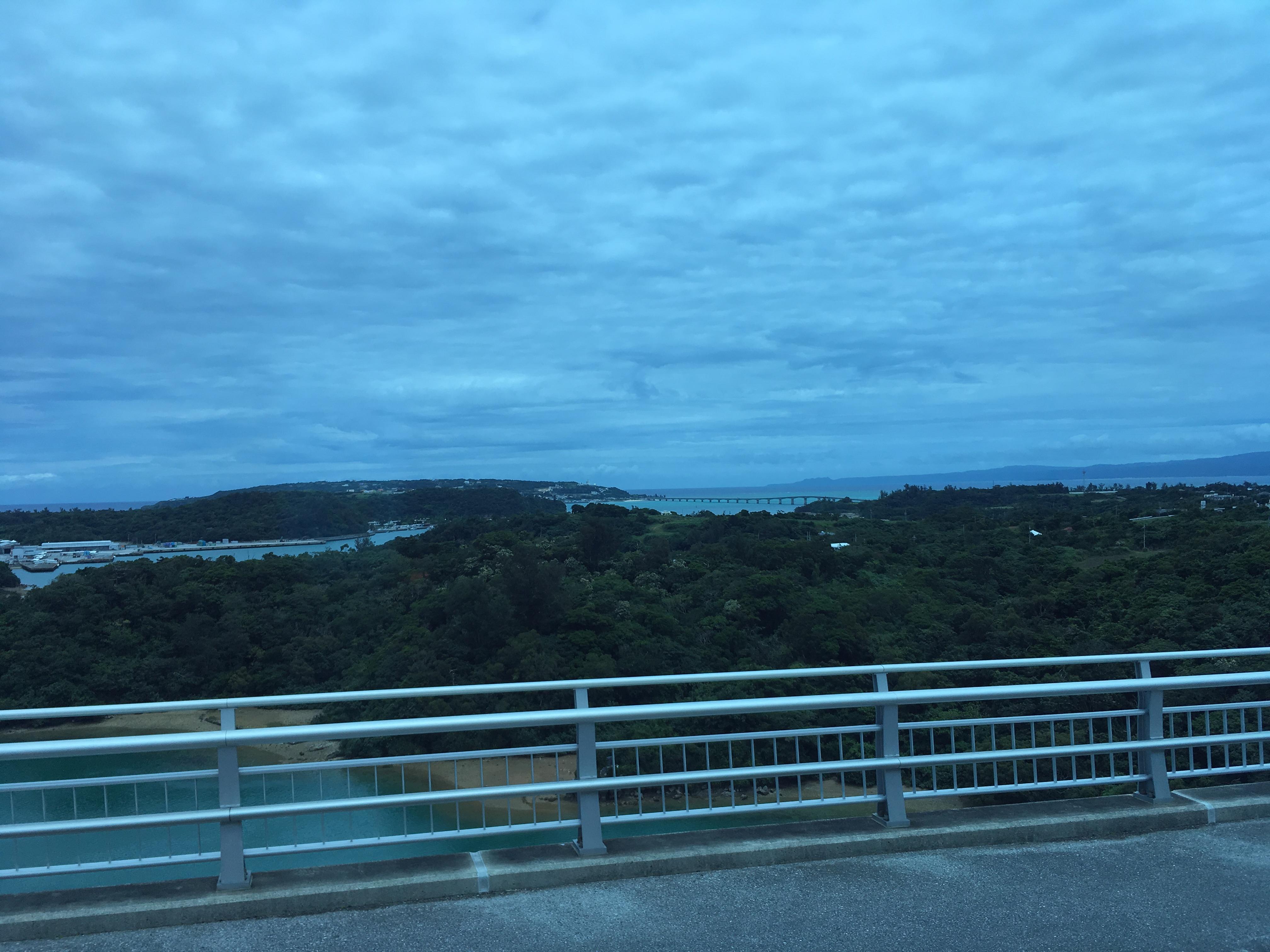 ワルミ大橋からの風景