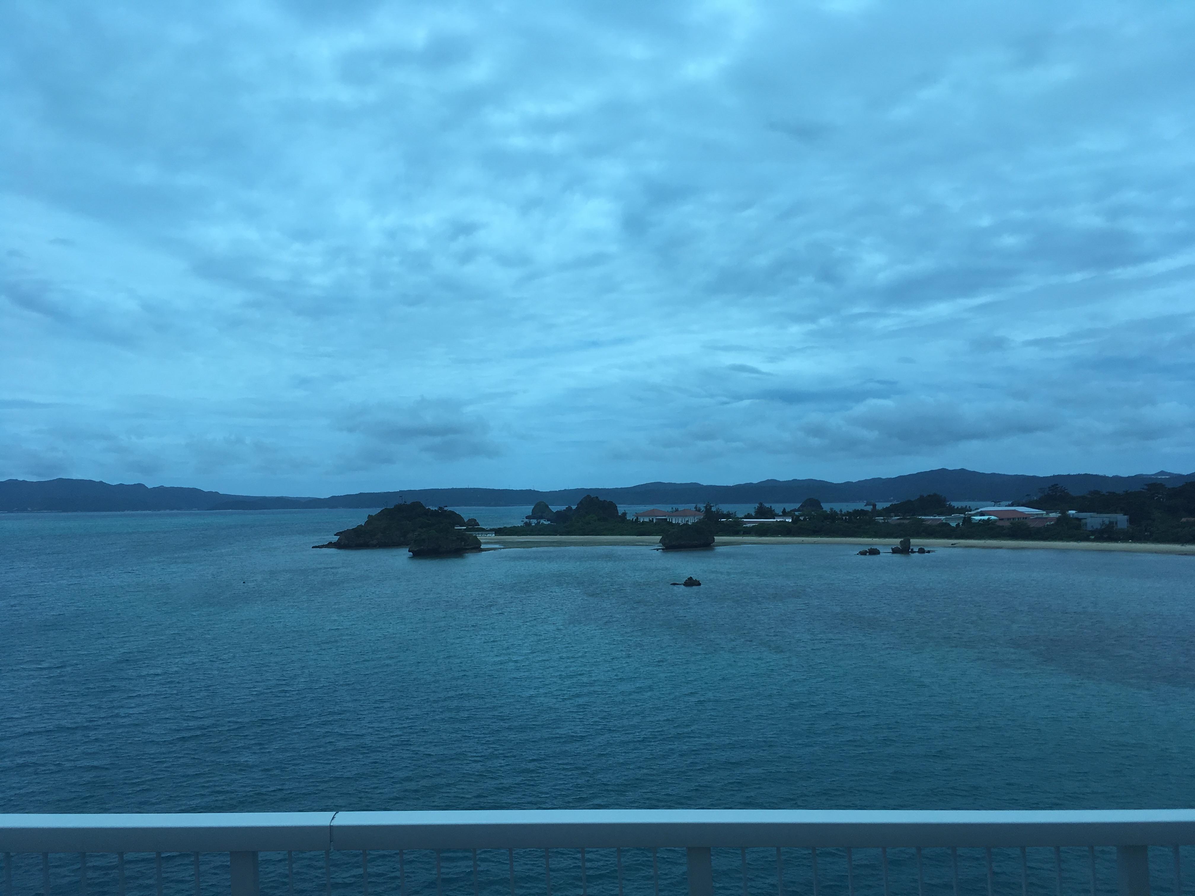 古宇利大橋からの風景