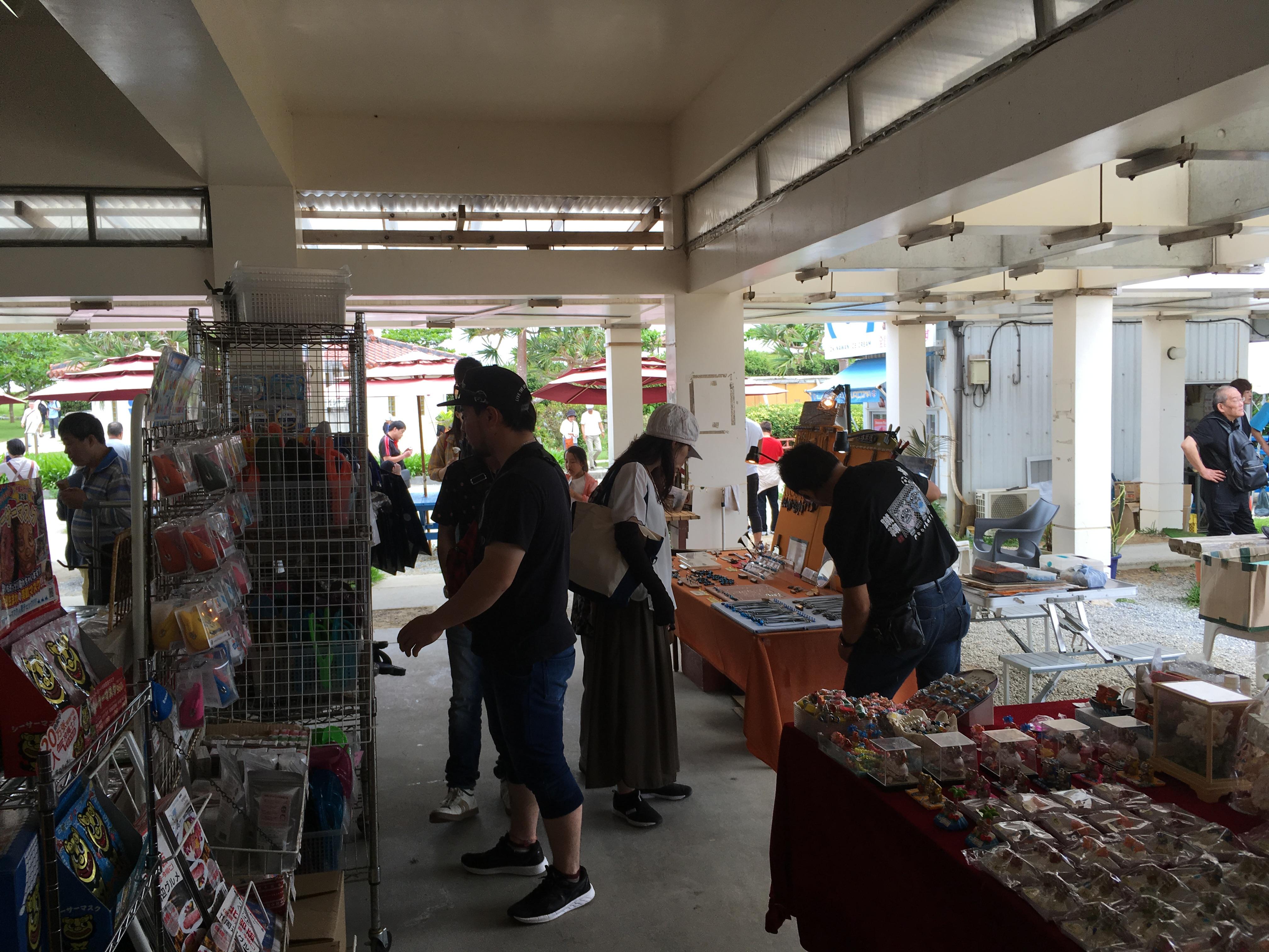 古宇利島市場