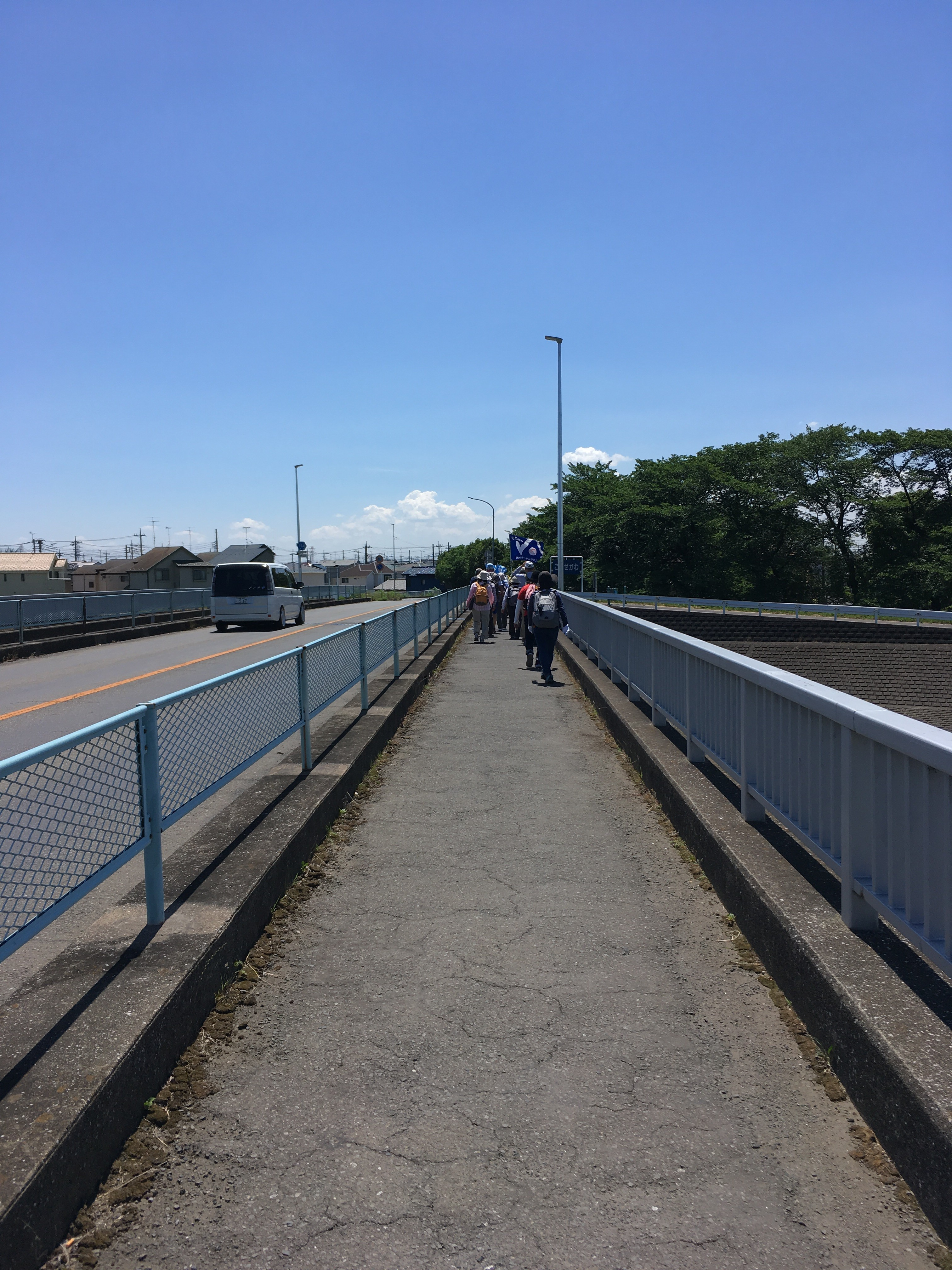 吉田公園周辺の小畔川橋