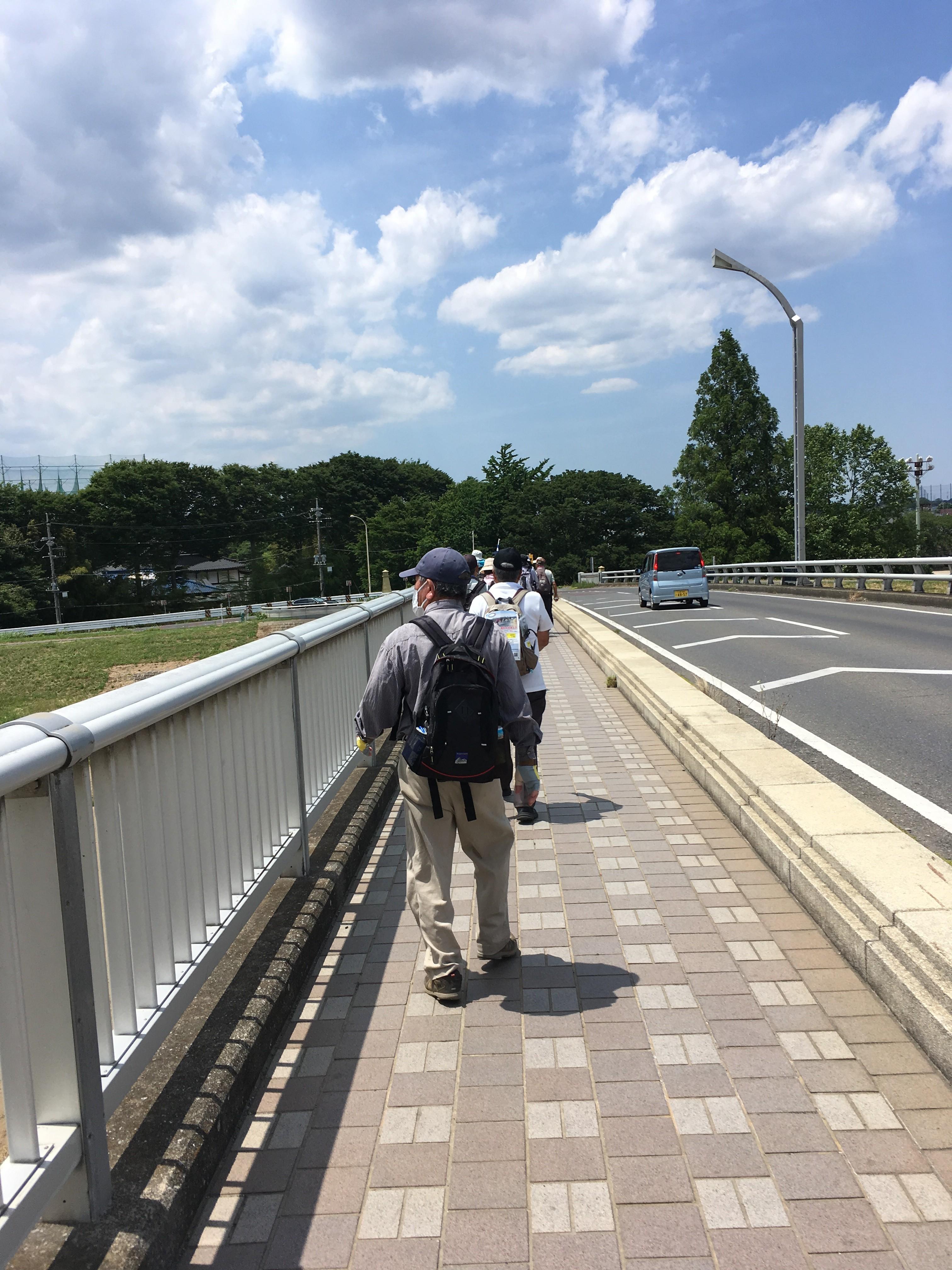 川越橋からの展望