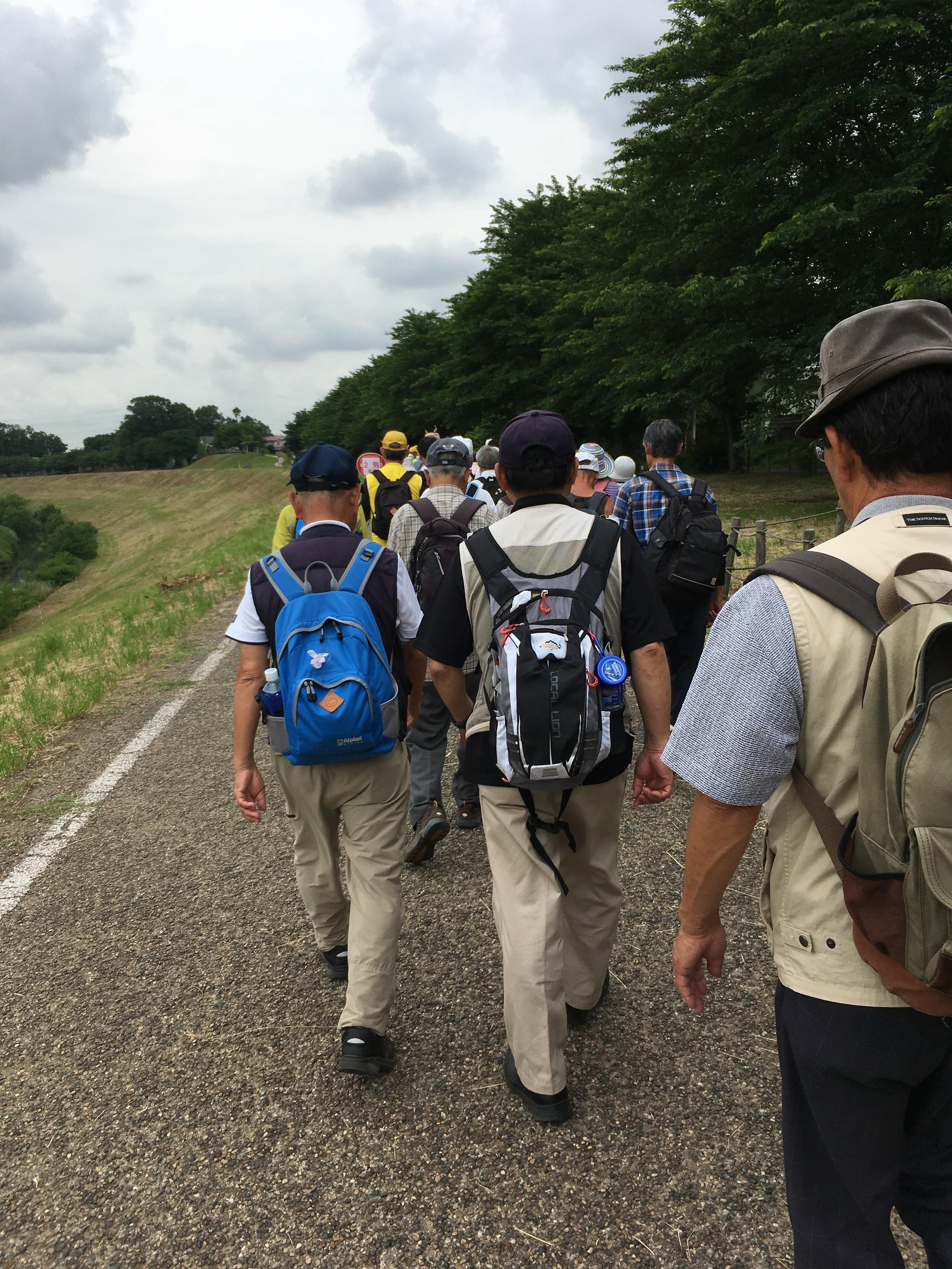 利根運河(流川運河)遊歩道
