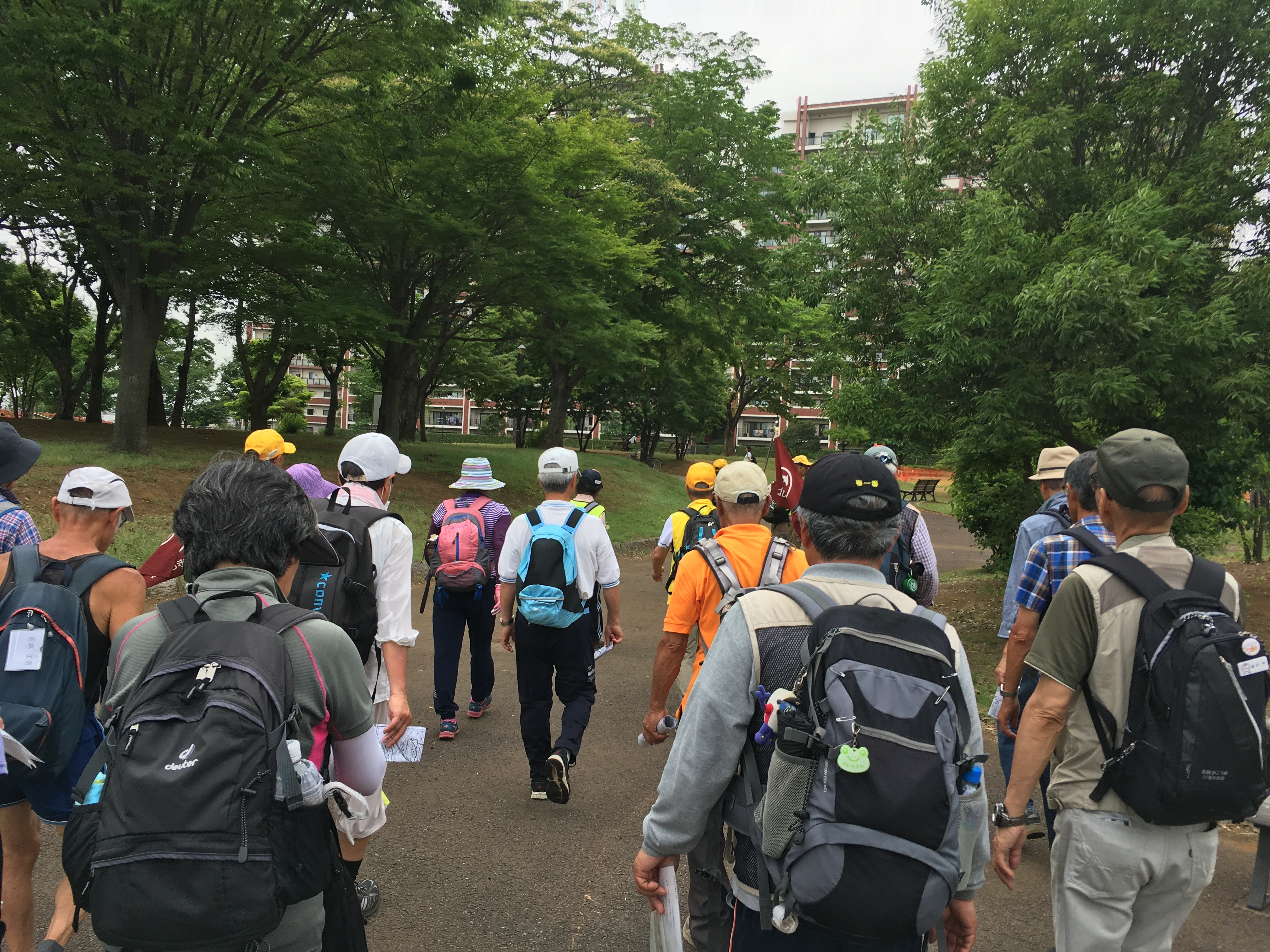 流山おおたかの森駅南口公園(ゴール).