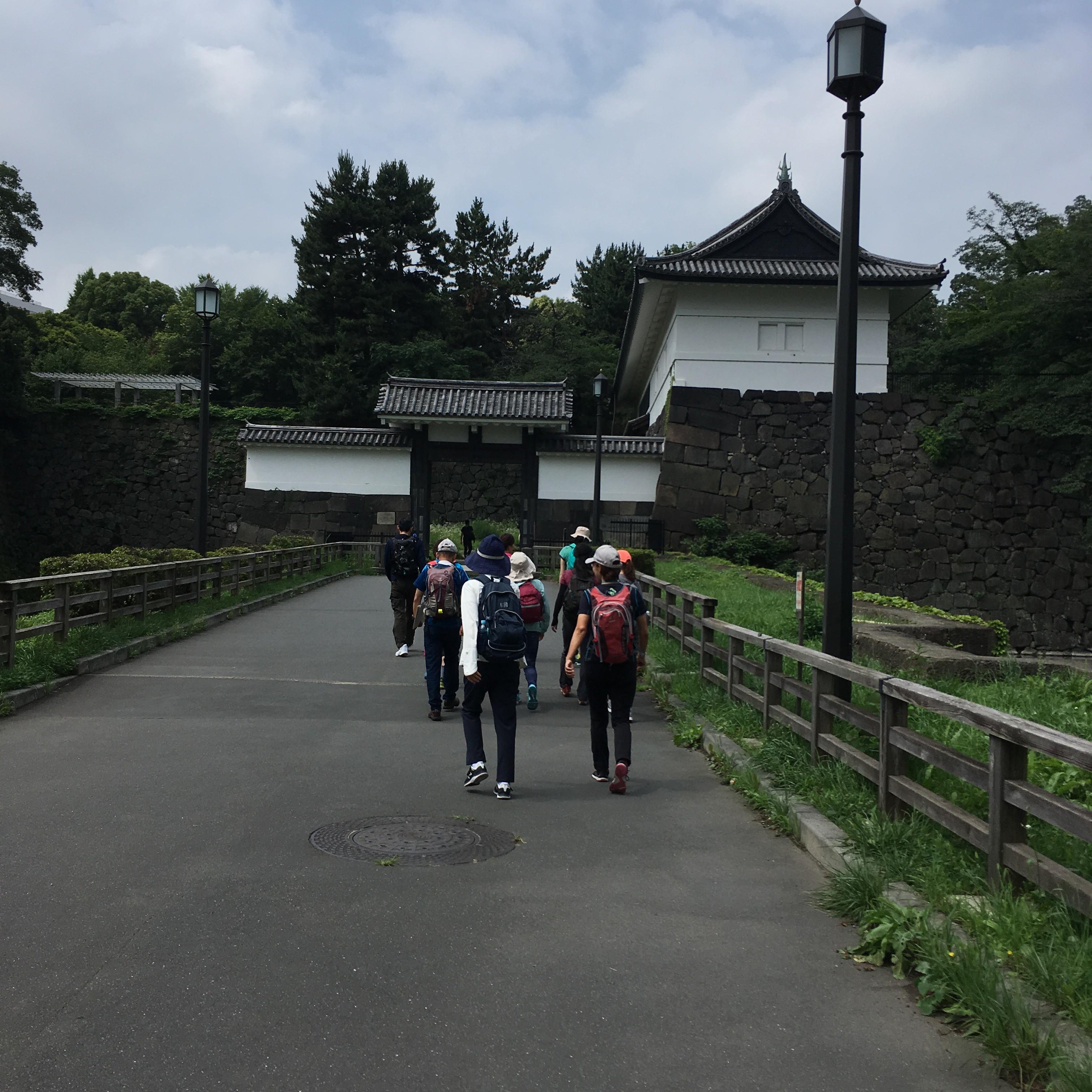 清水門遊歩道