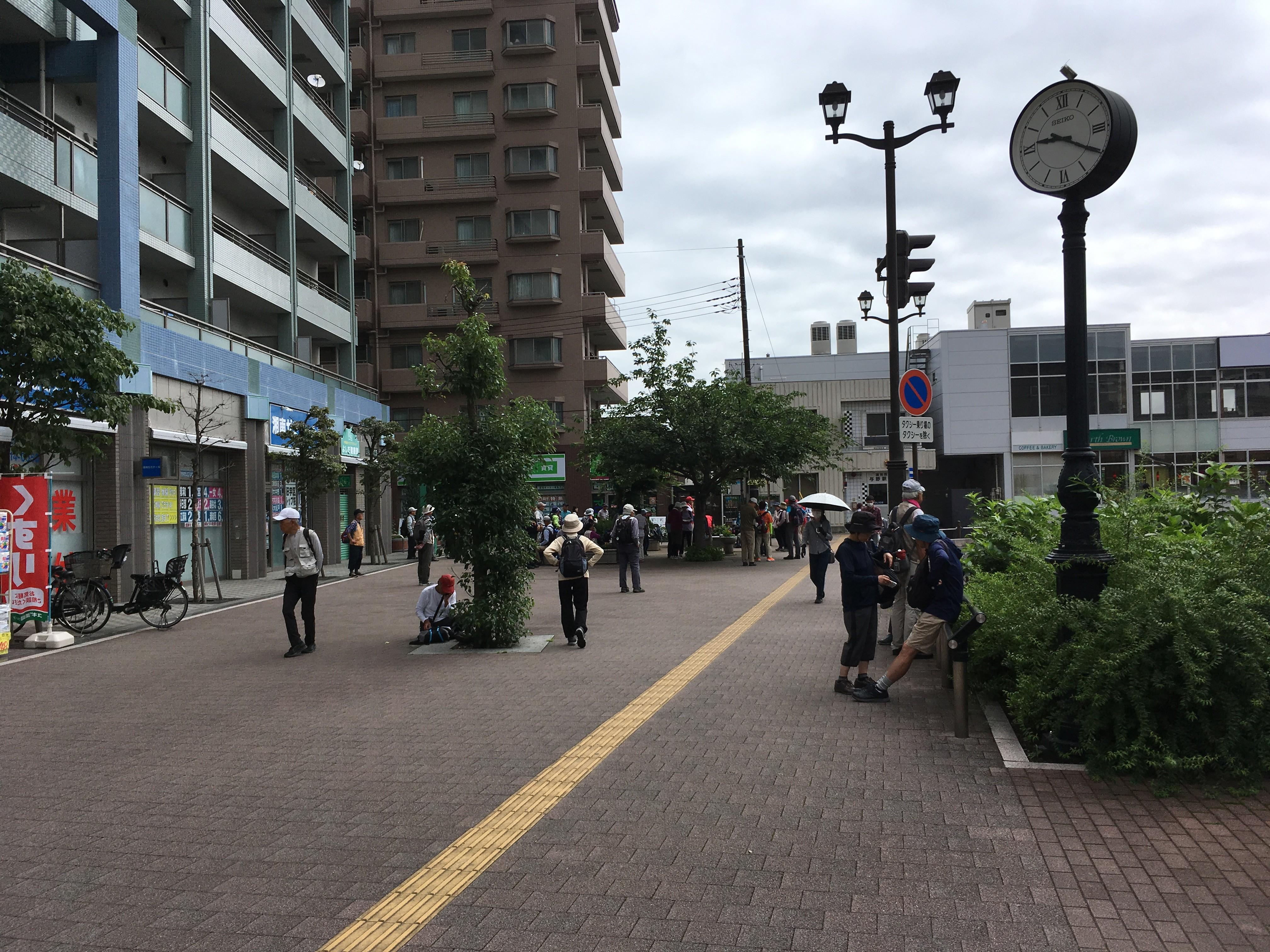 与野駅西口交番前(JR京浜東北線)(スタート)