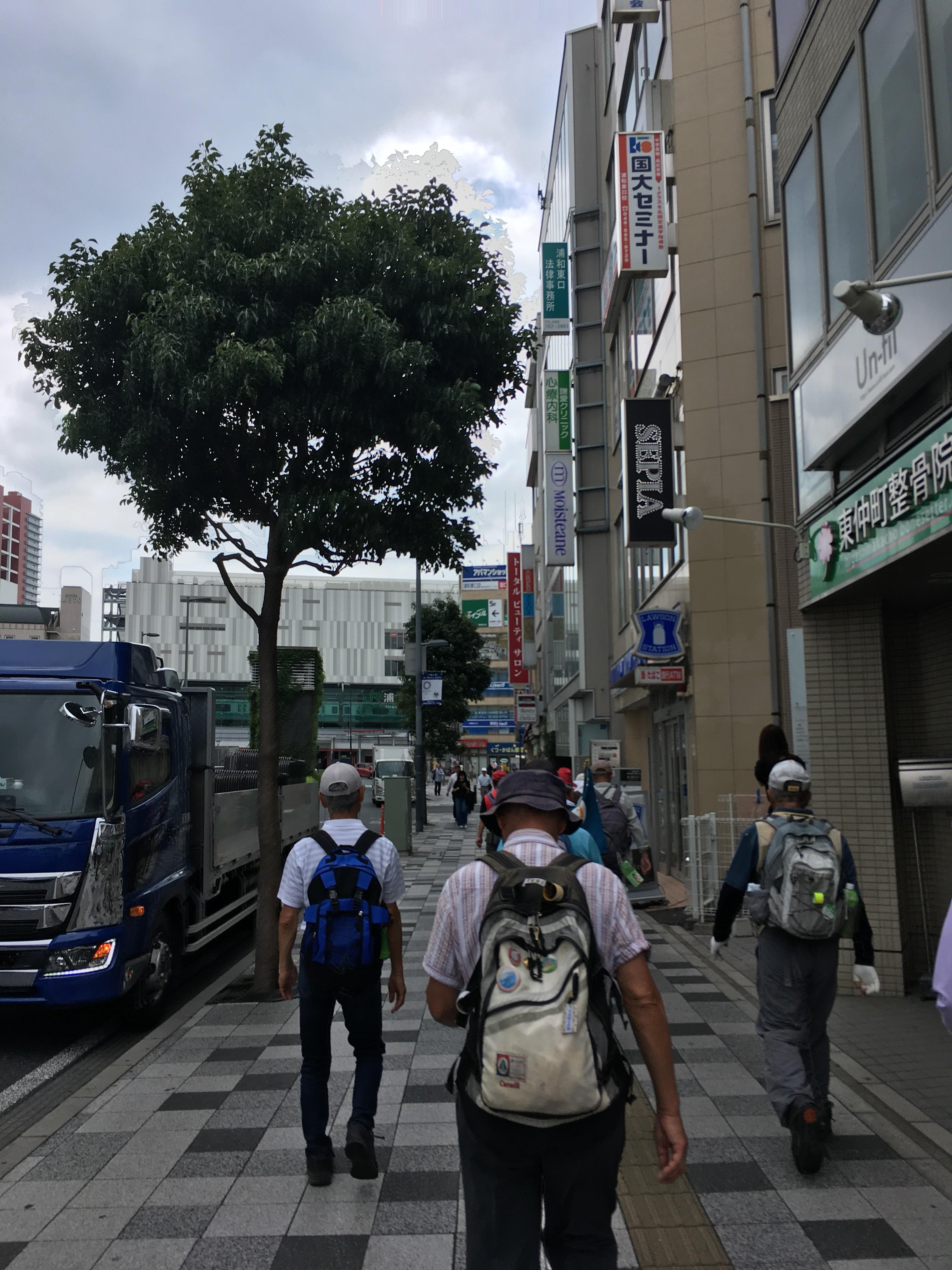 浦和駅パルコ前(JR京浜東北線)(ゴール)