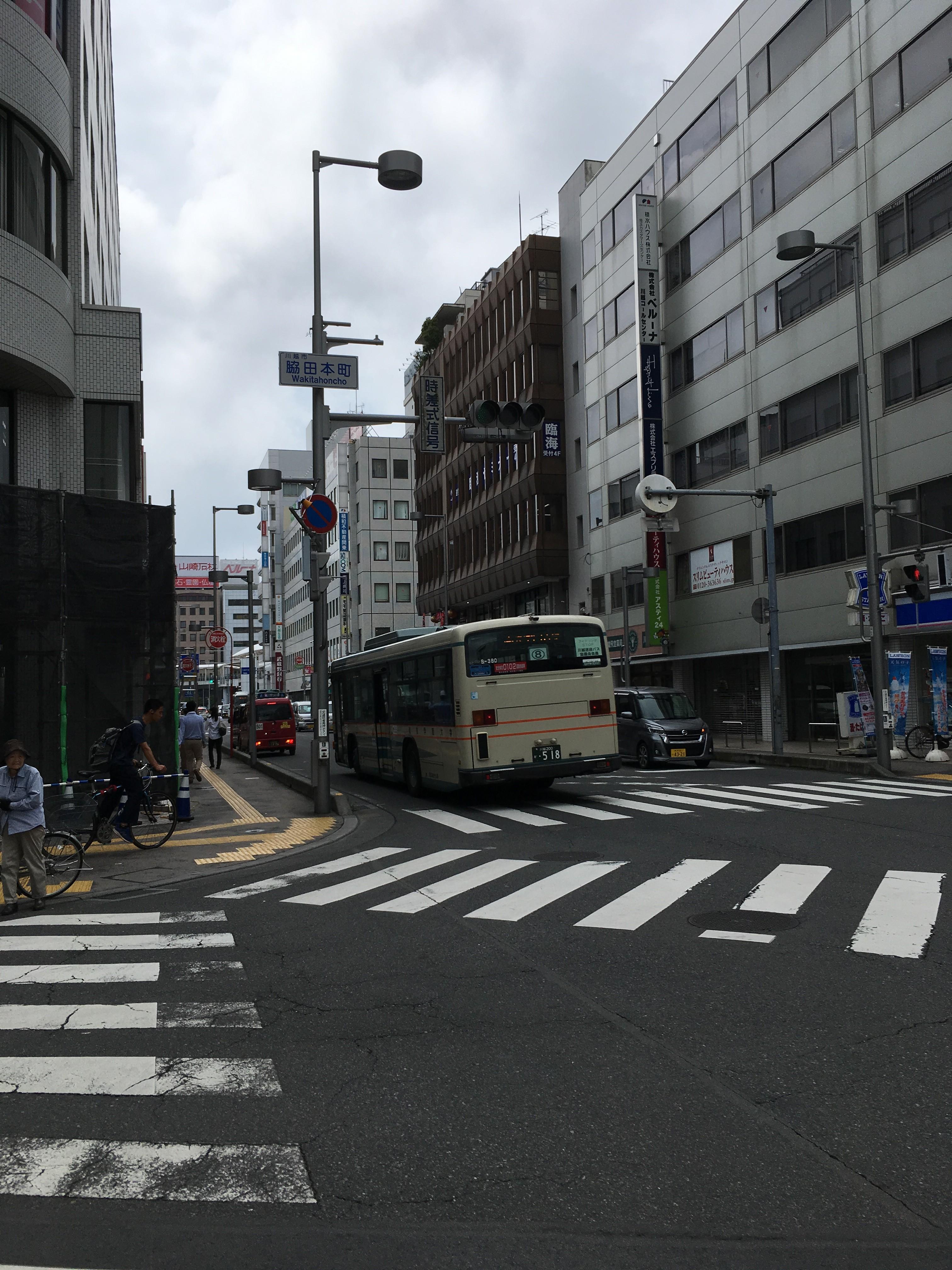 脇田本町交差点