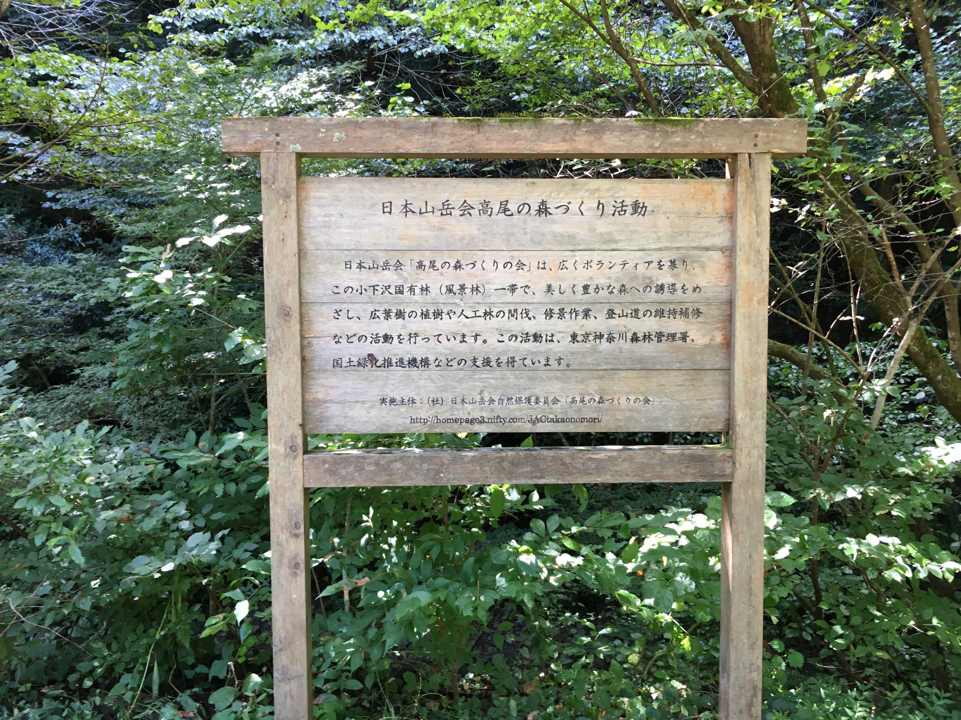 高尾の森作業小屋