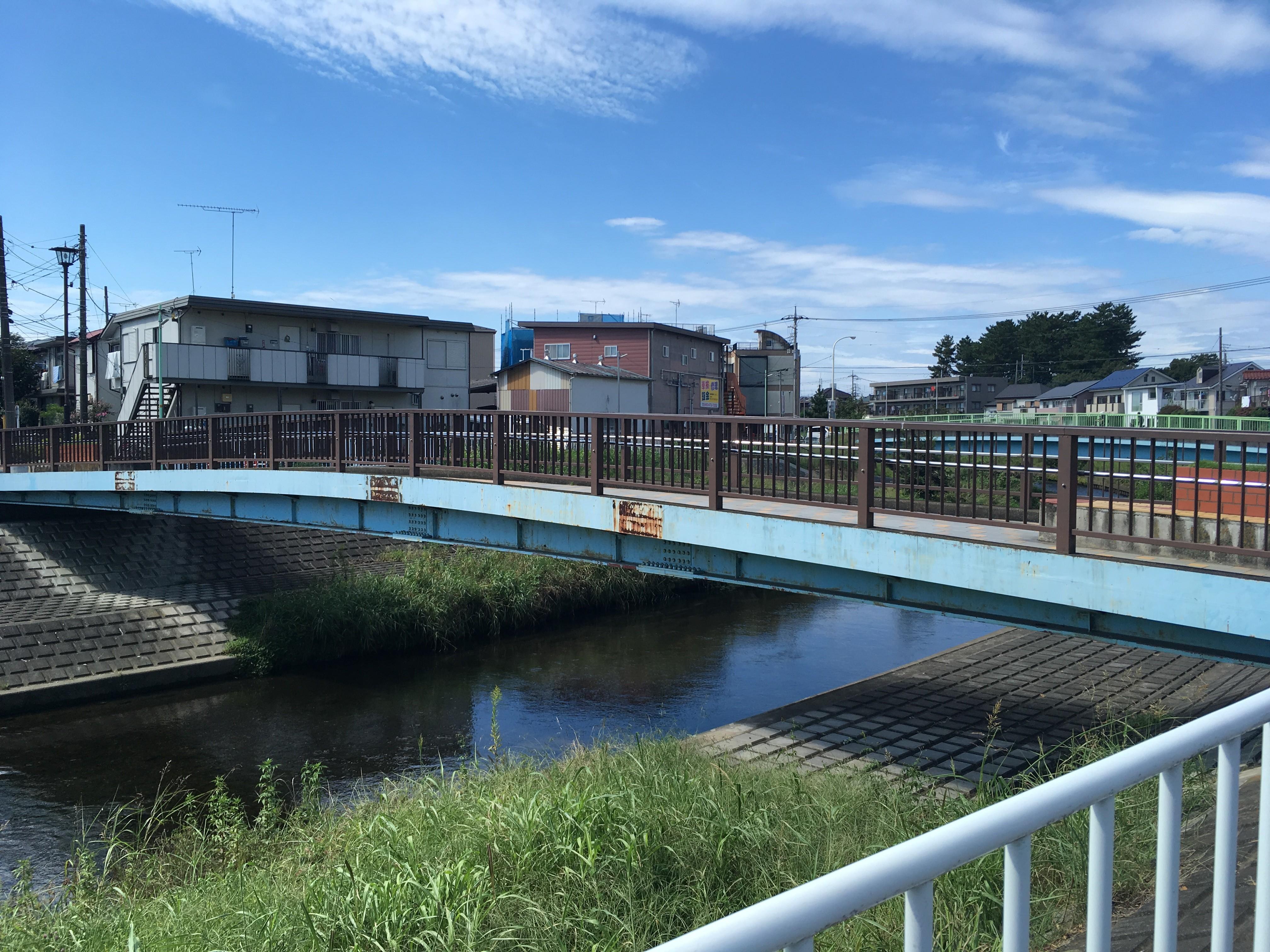 黒目川前通り橋(歩行者専用)