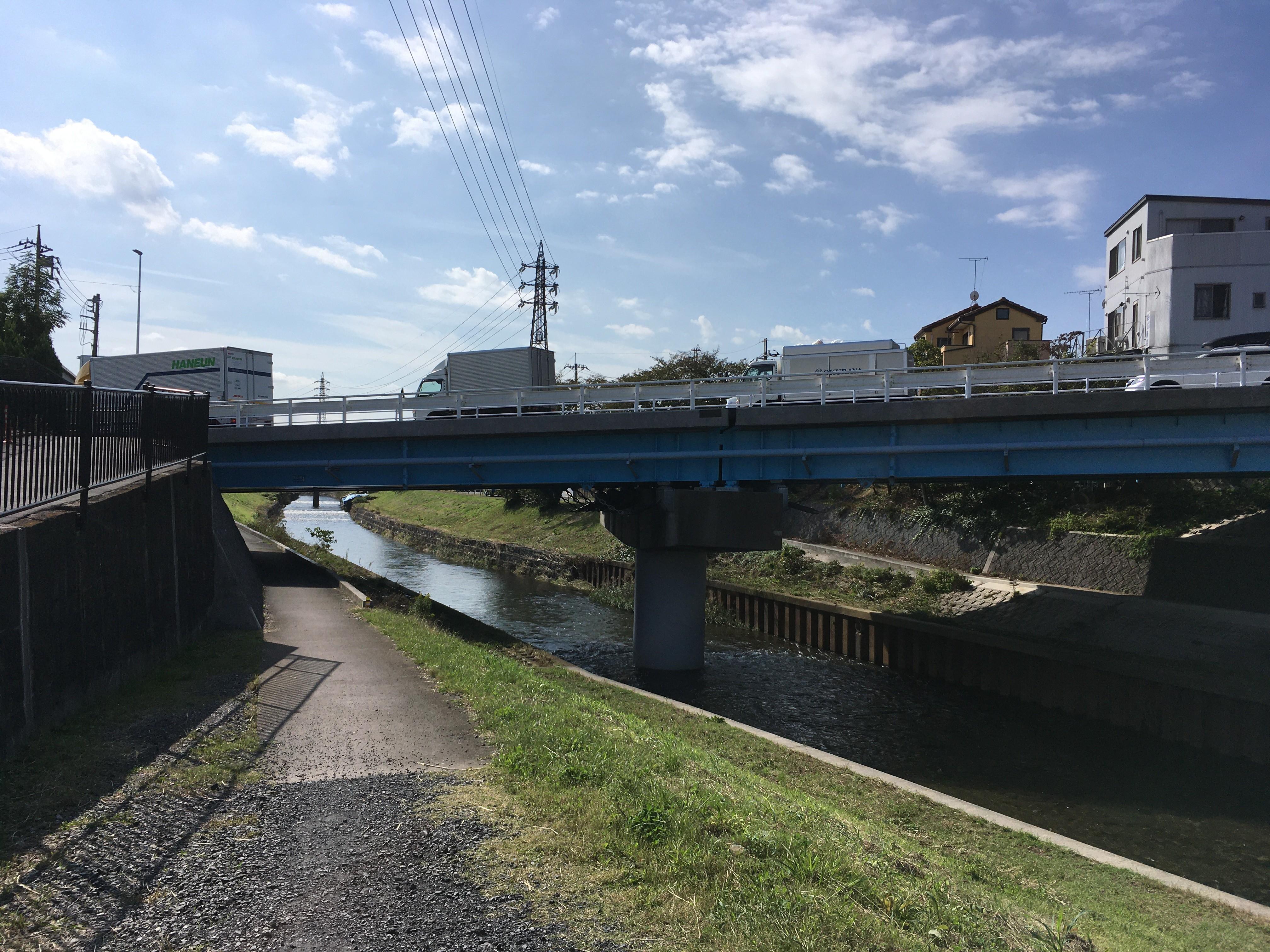 黒目橋(膝折町)