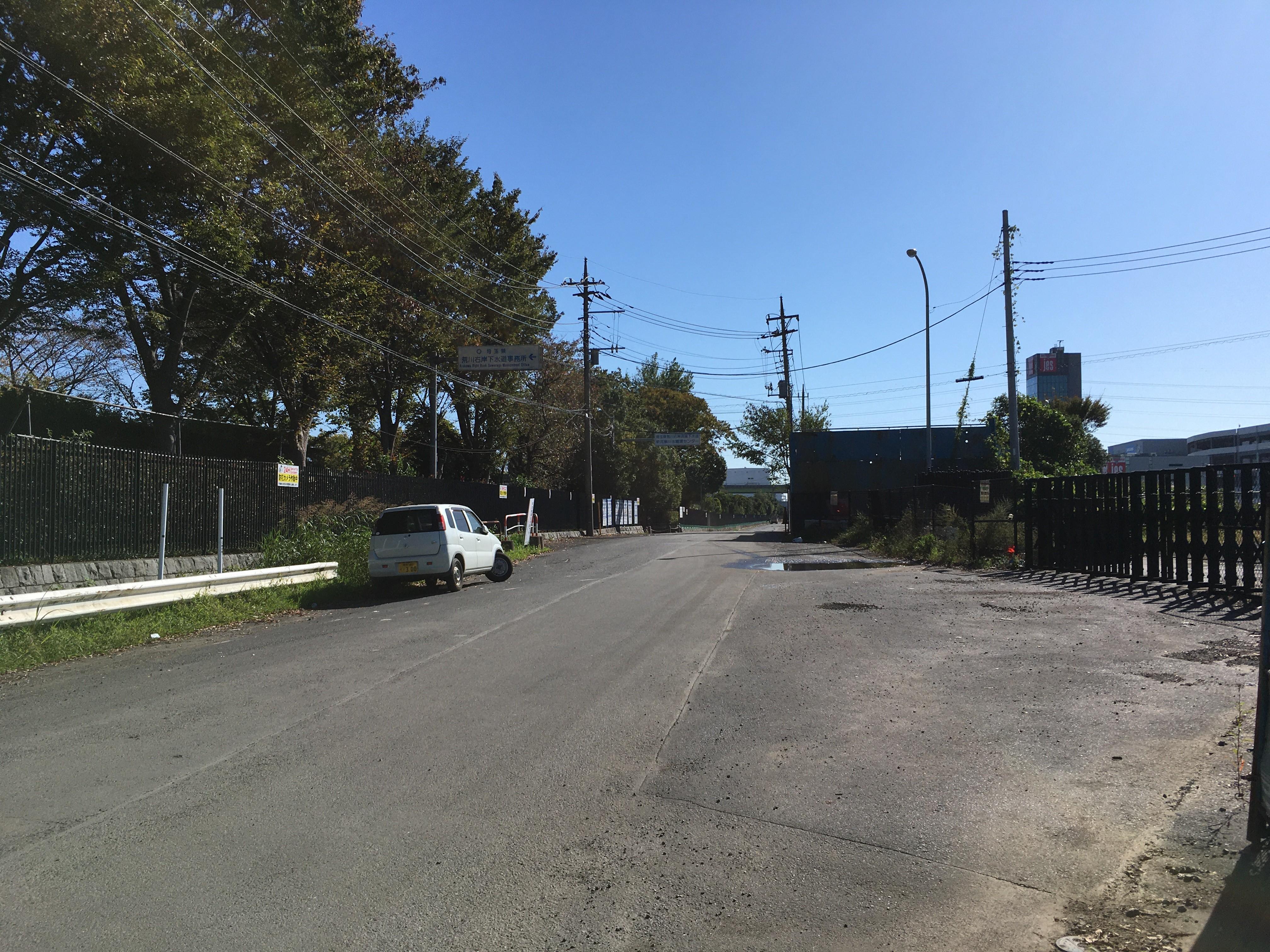 旧水道道路
