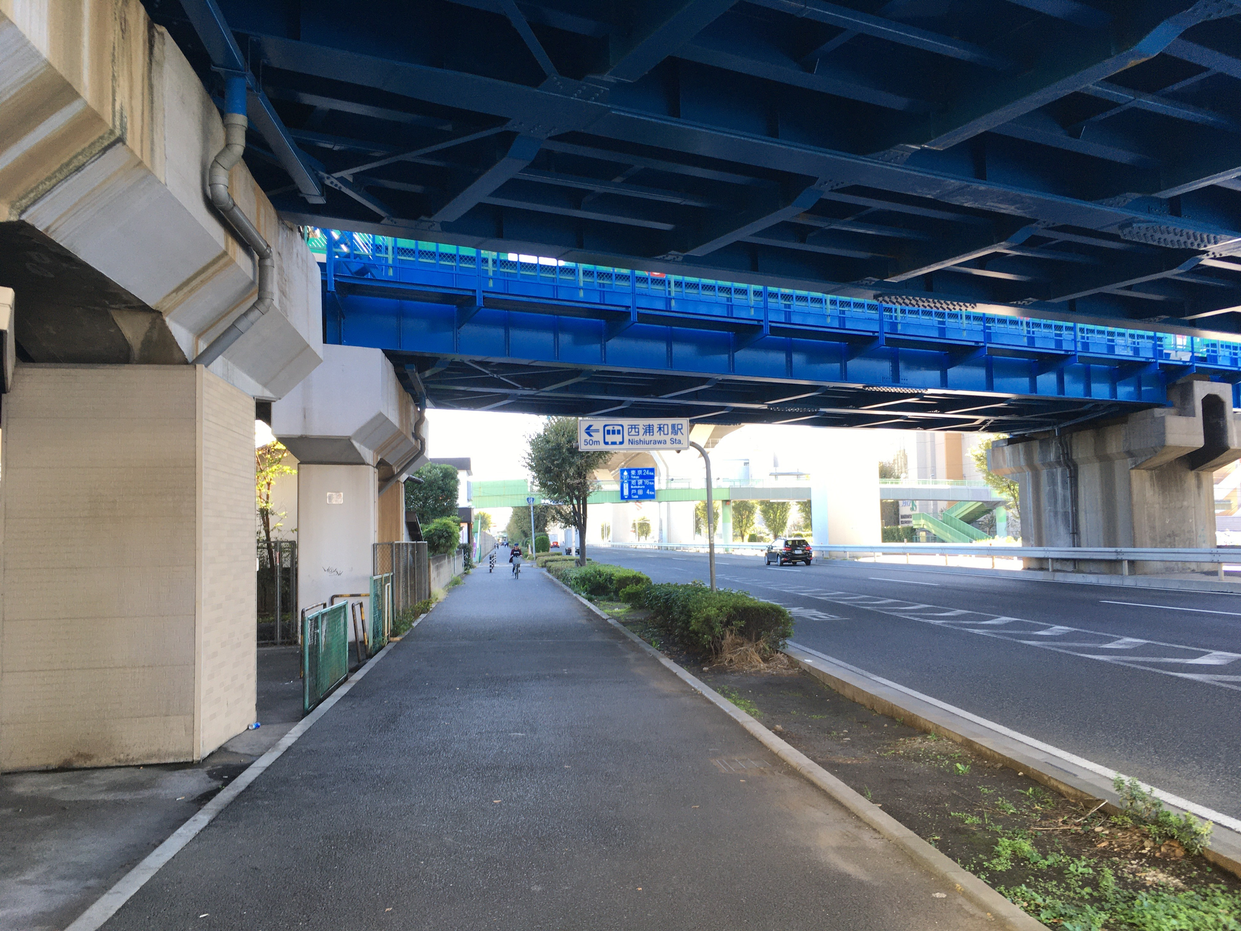 西浦和駅(武蔵野線高架下)