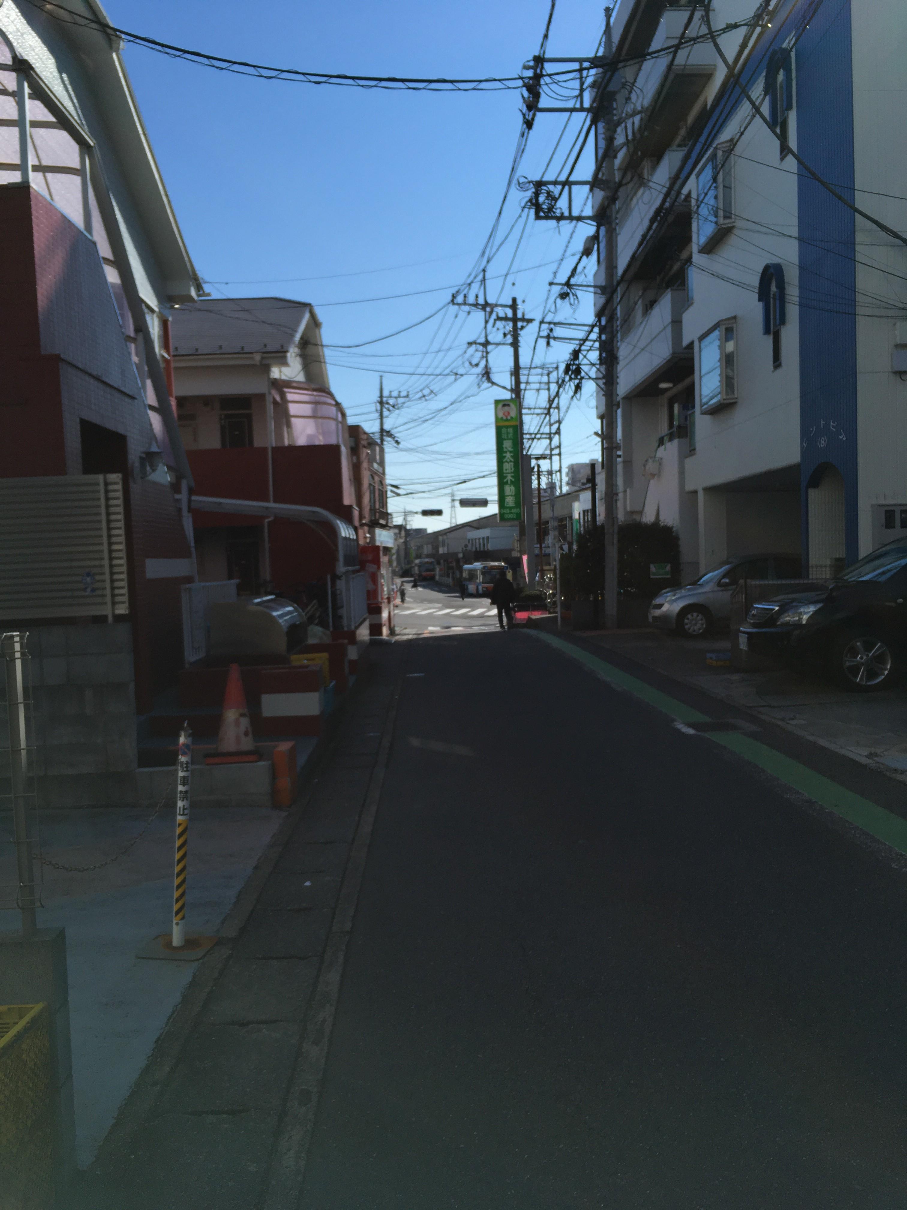 新倉ニコニコ薬局周辺