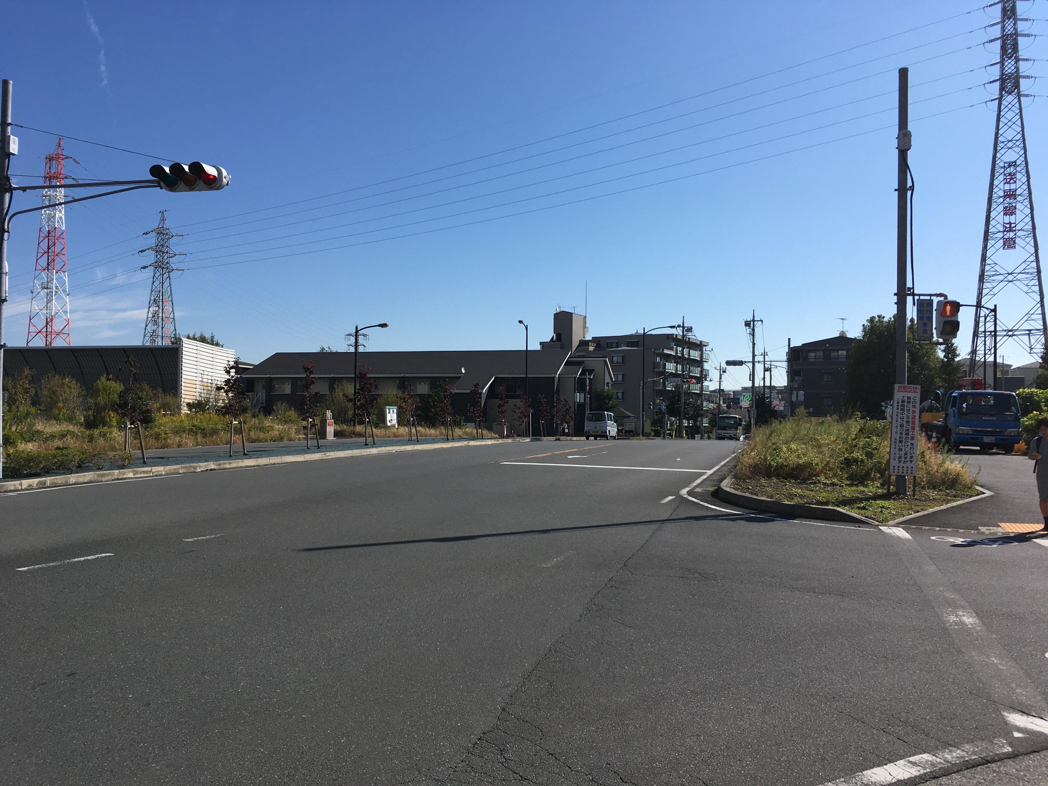 東京外環自動車道和光インター