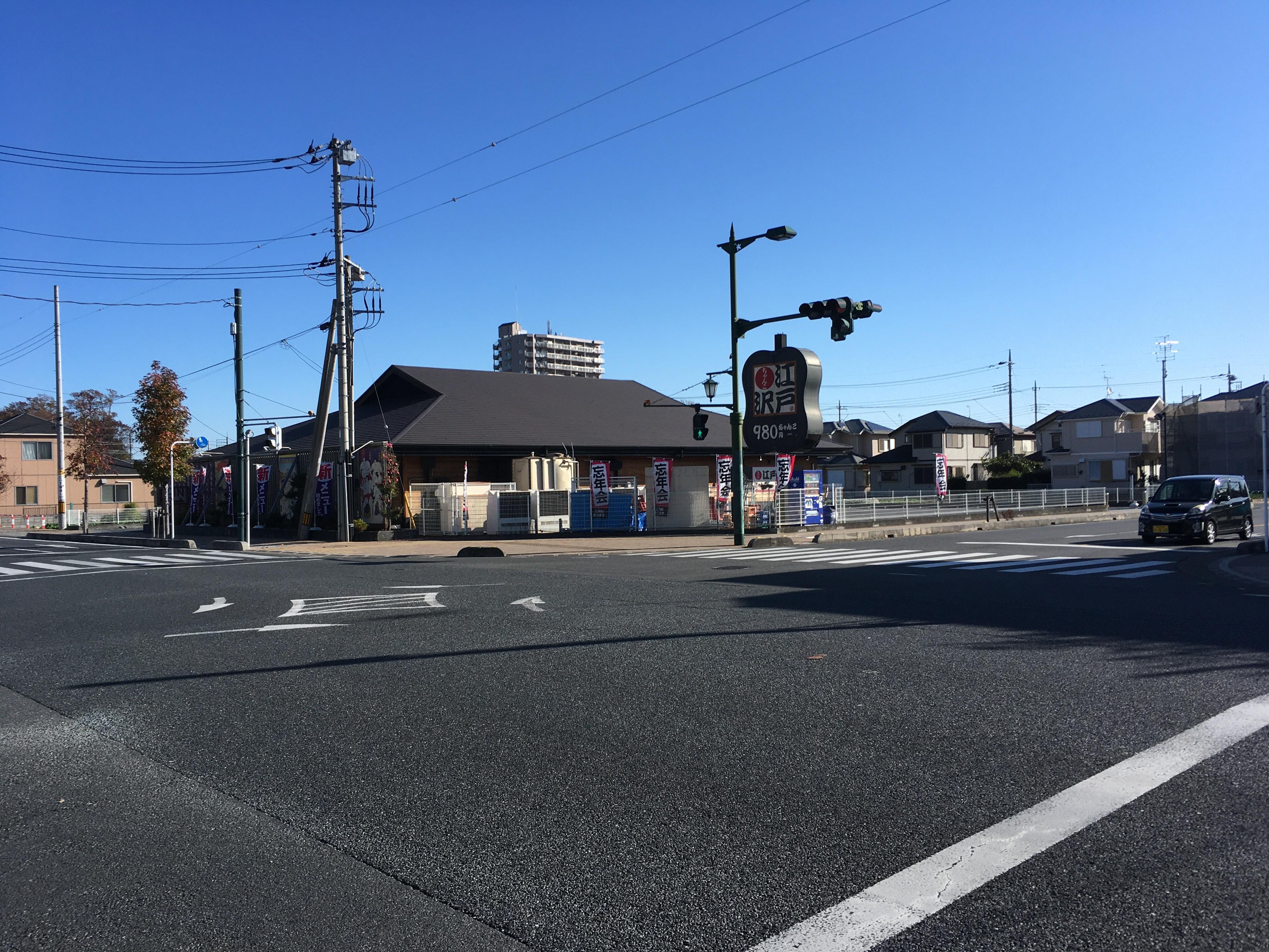 新座駅南口交差点