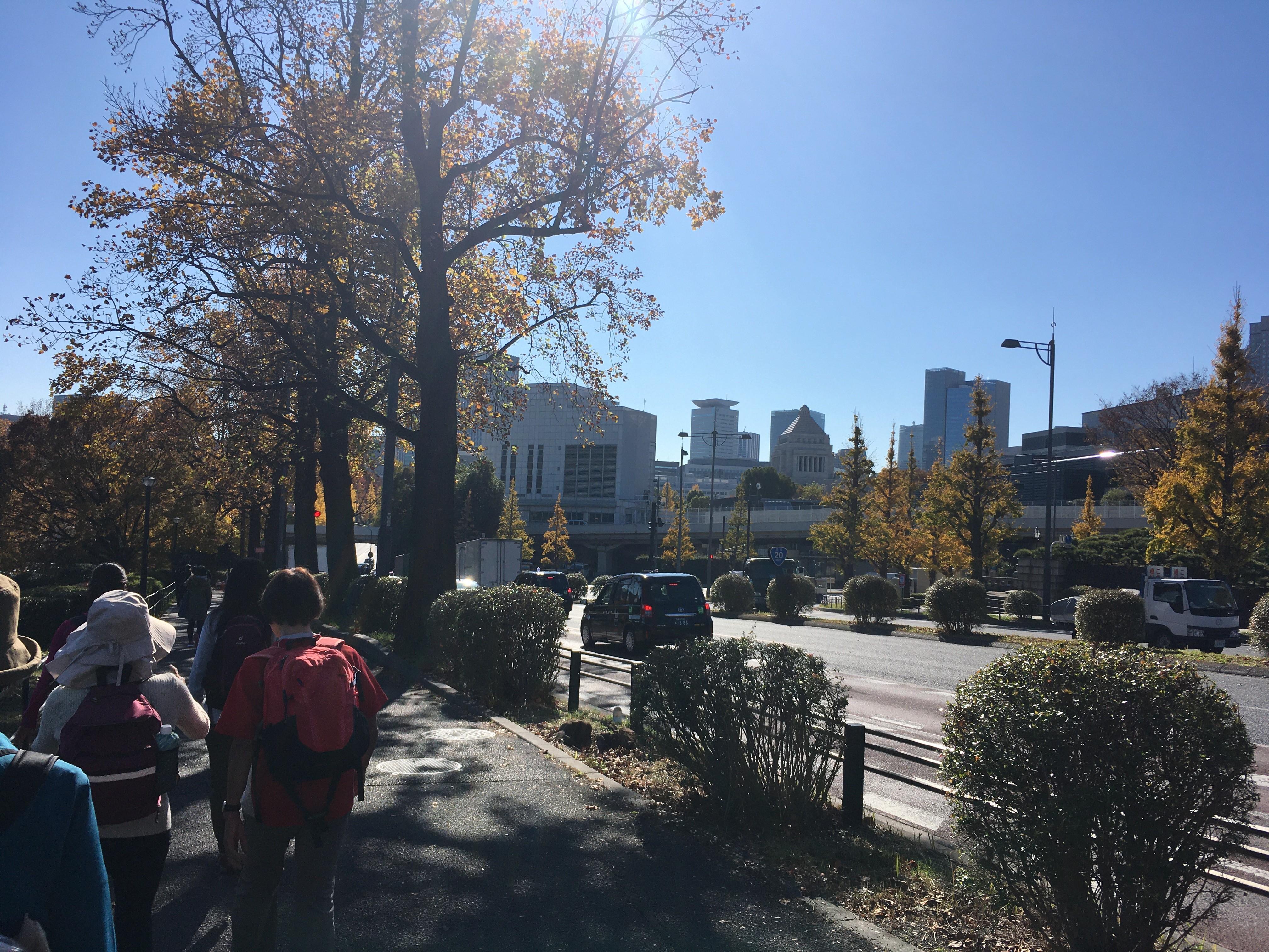桜田濠遊歩道